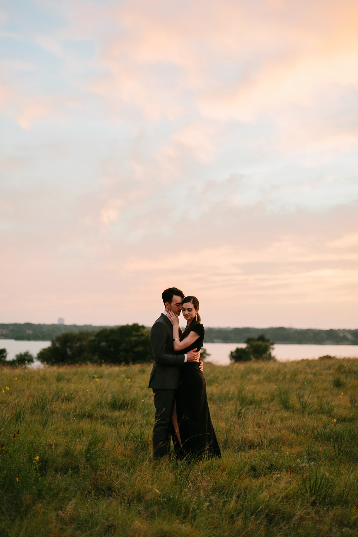 a laughter filled, passionate, and fun loving engagement session by North Texas Wedding Photographer Rachel Meagan Photography 214