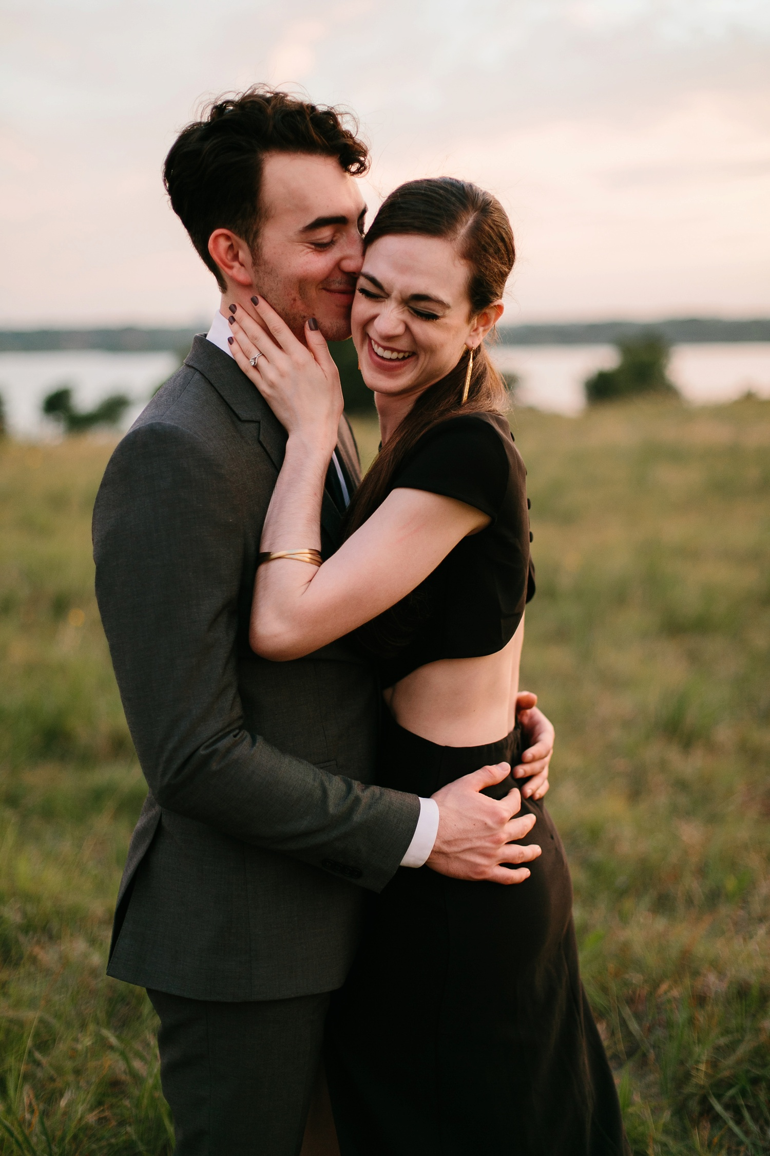 a laughter filled, passionate, and fun loving engagement session by North Texas Wedding Photographer Rachel Meagan Photography 217