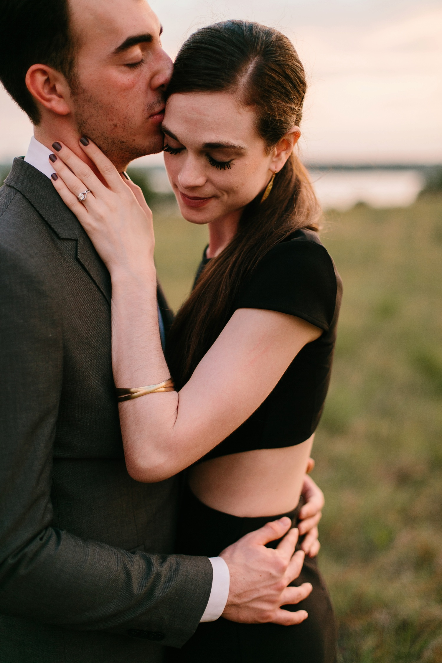a laughter filled, passionate, and fun loving engagement session by North Texas Wedding Photographer Rachel Meagan Photography 221