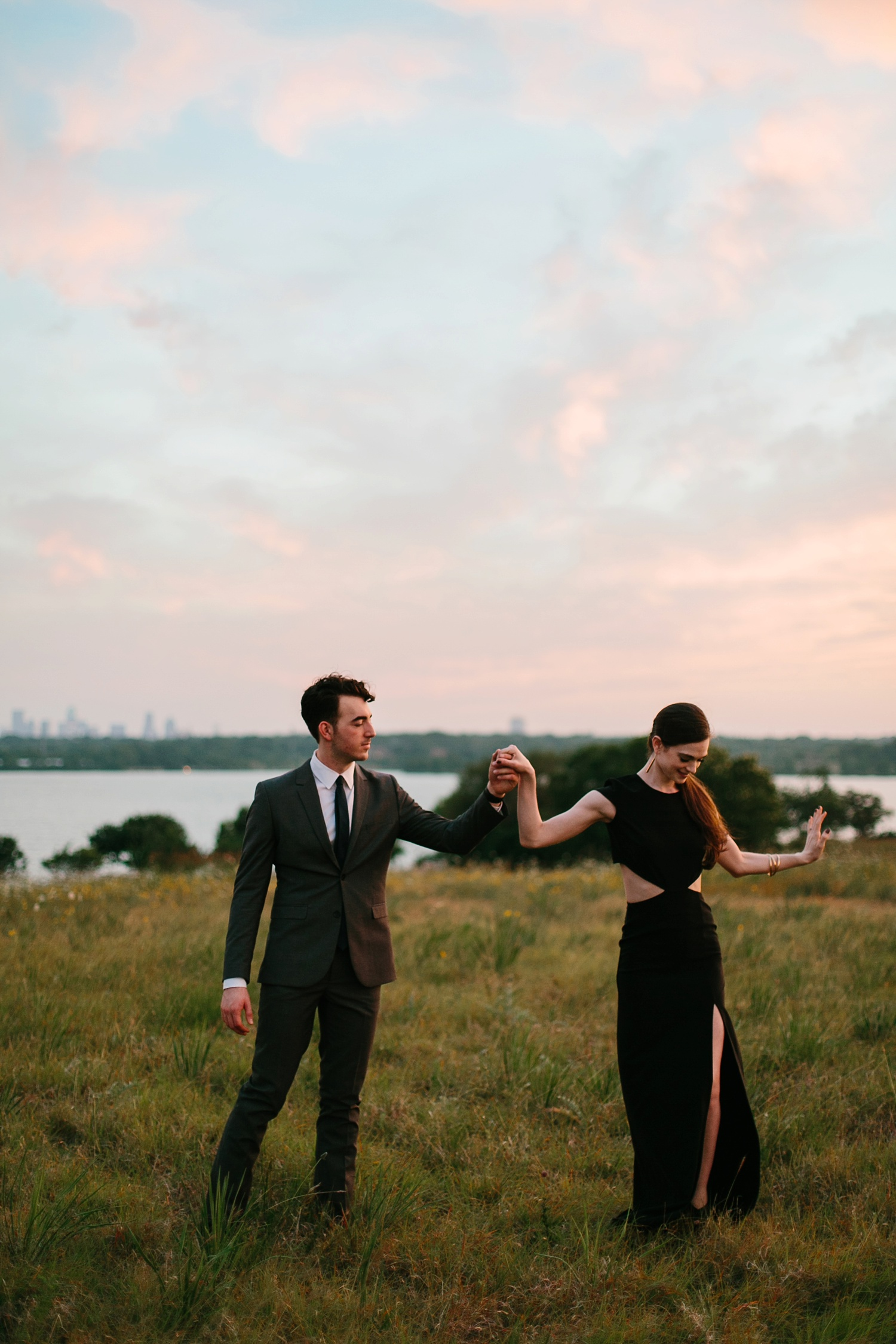 a laughter filled, passionate, and fun loving engagement session by North Texas Wedding Photographer Rachel Meagan Photography 224