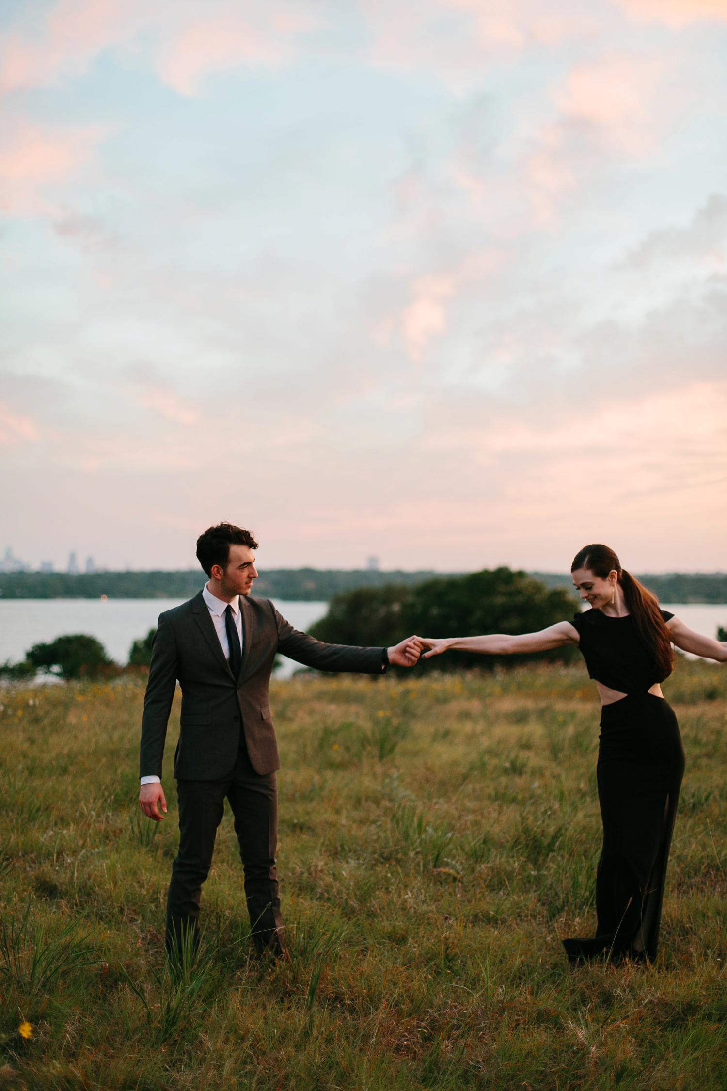 a laughter filled, passionate, and fun loving engagement session by North Texas Wedding Photographer Rachel Meagan Photography 225