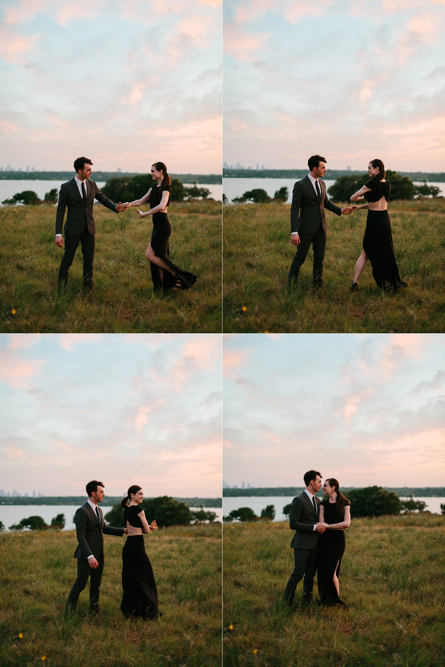 a laughter filled, passionate, and fun loving engagement session by North Texas Wedding Photographer Rachel Meagan Photography 226