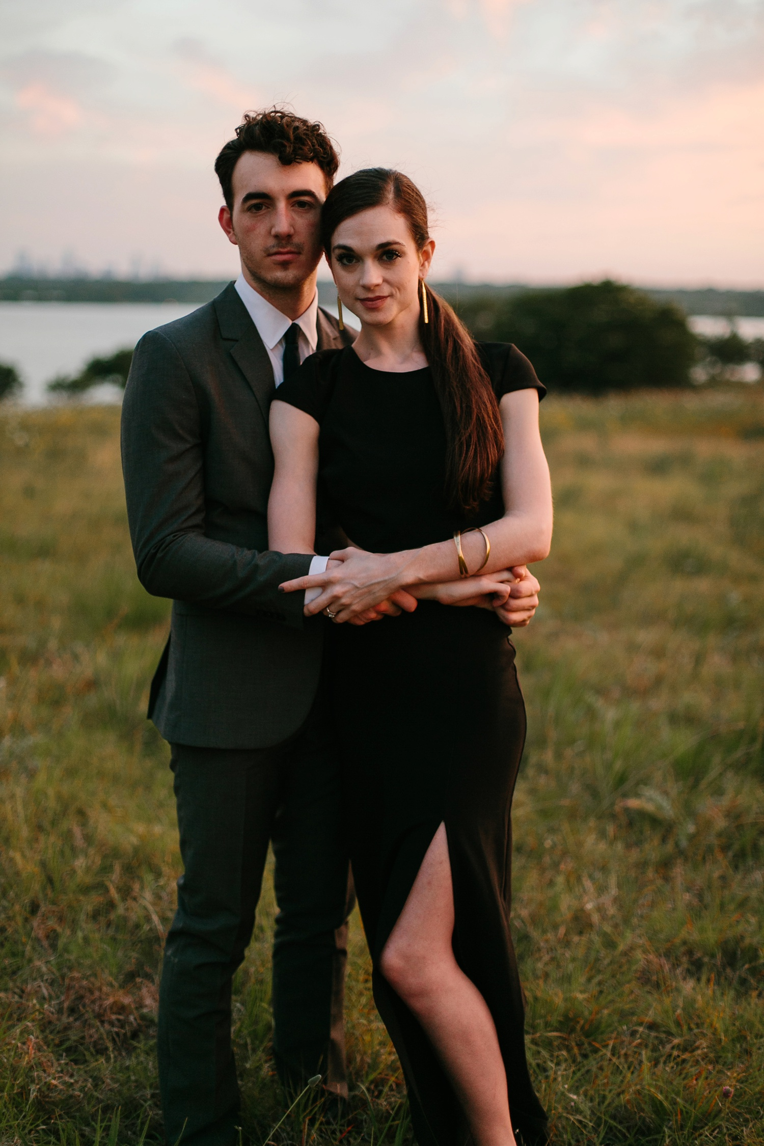 a laughter filled, passionate, and fun loving engagement session by North Texas Wedding Photographer Rachel Meagan Photography 229