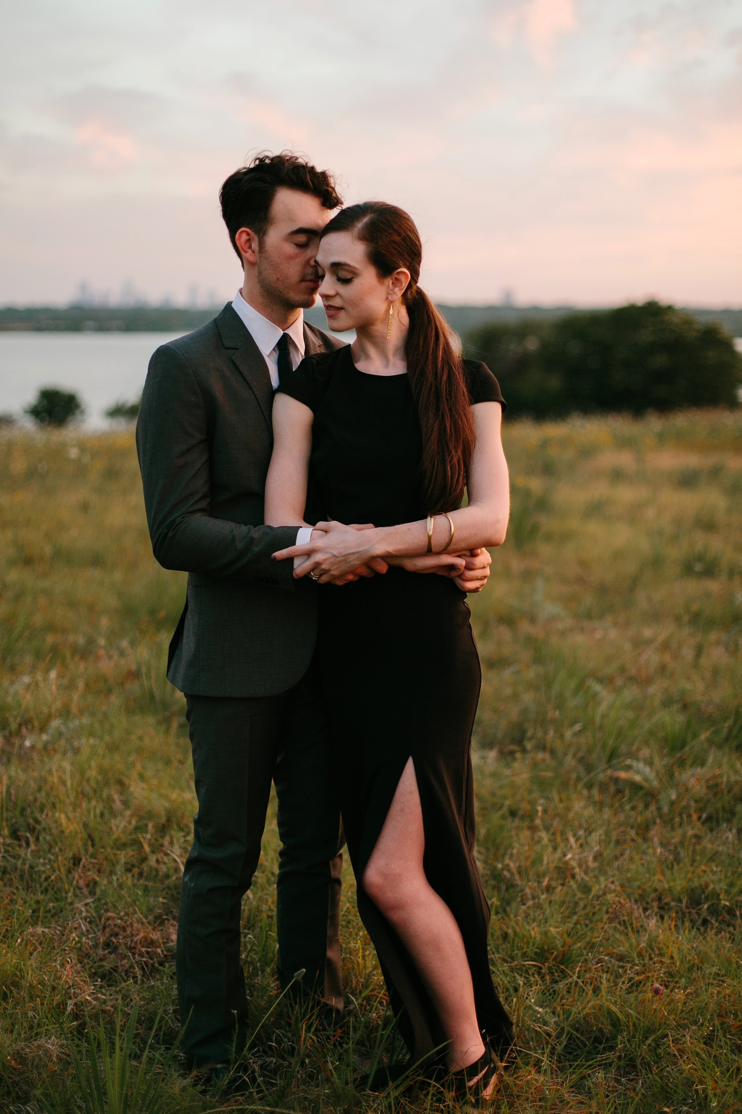 a laughter filled, passionate, and fun loving engagement session by North Texas Wedding Photographer Rachel Meagan Photography 230
