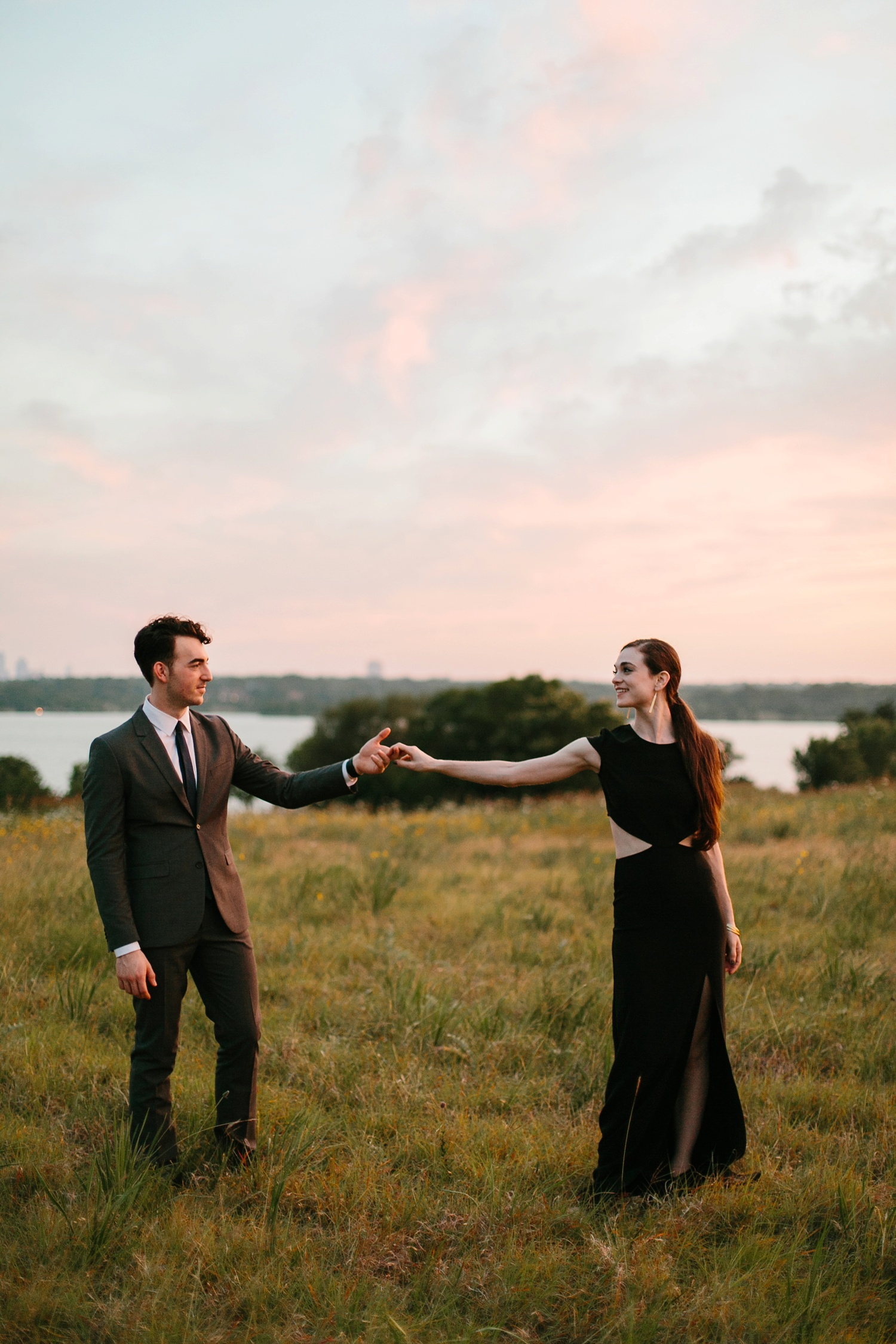 a laughter filled, passionate, and fun loving engagement session by North Texas Wedding Photographer Rachel Meagan Photography 231