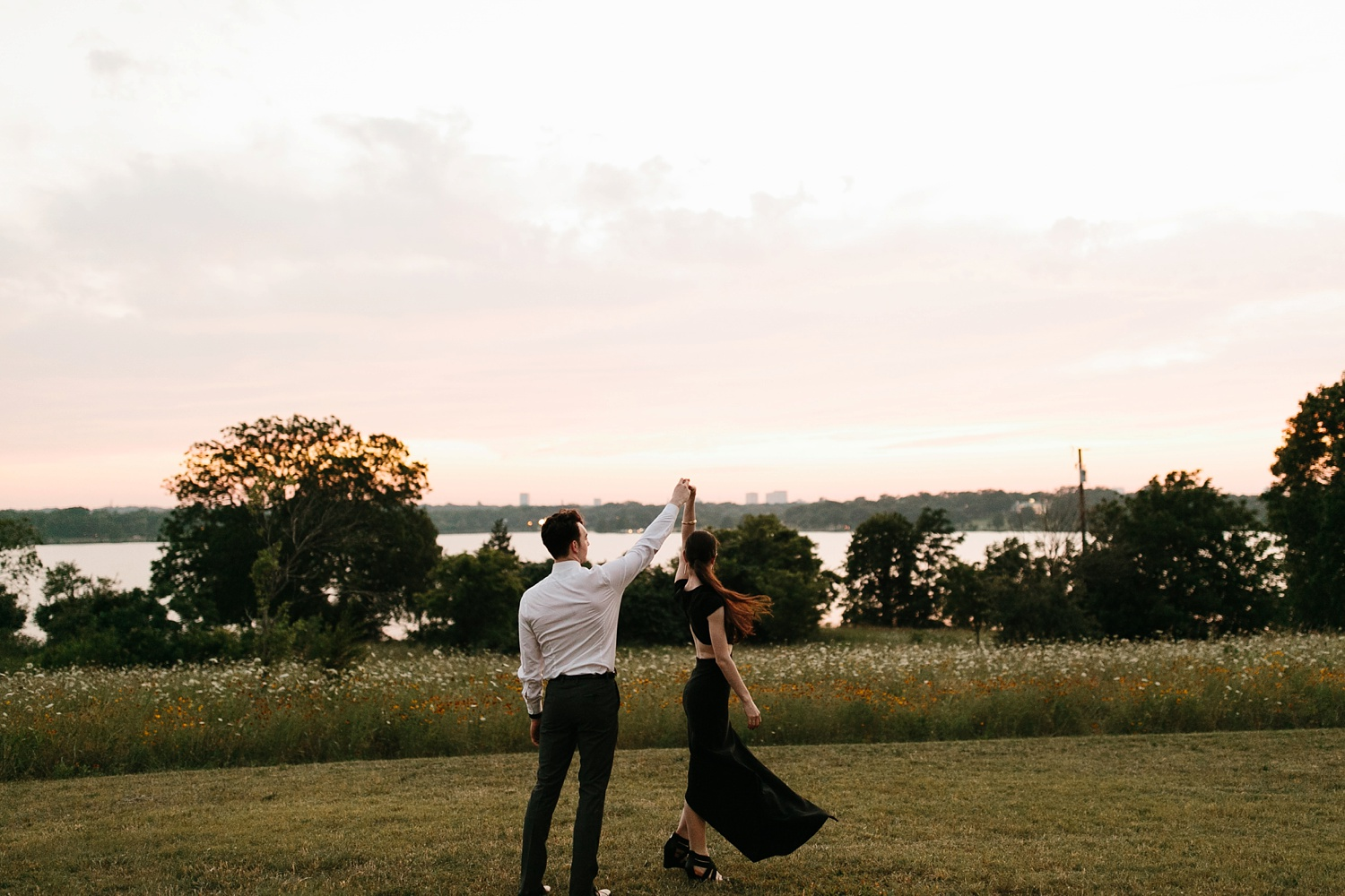 a laughter filled, passionate, and fun loving engagement session by North Texas Wedding Photographer Rachel Meagan Photography 243