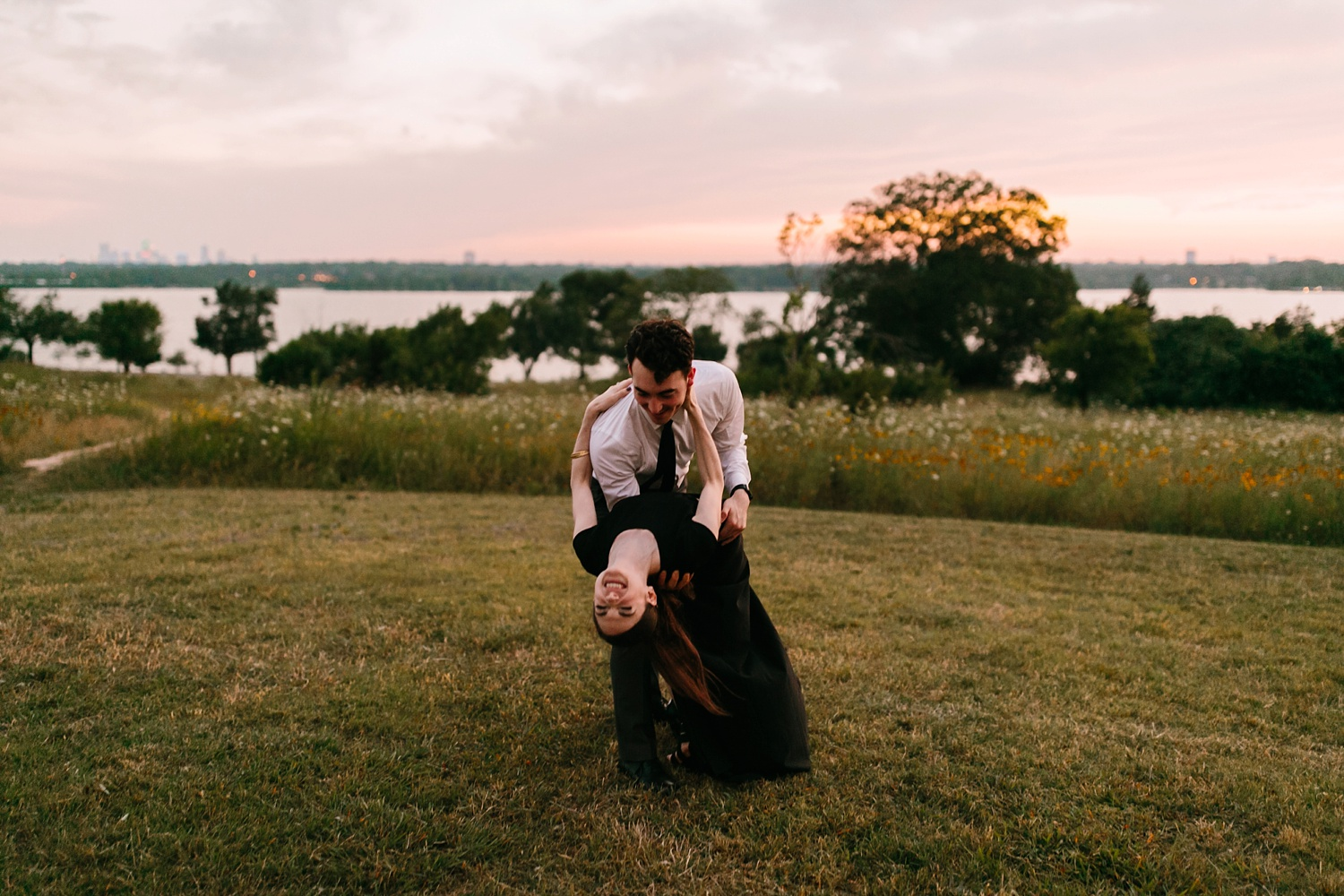 a laughter filled, passionate, and fun loving engagement session by North Texas Wedding Photographer Rachel Meagan Photography 245
