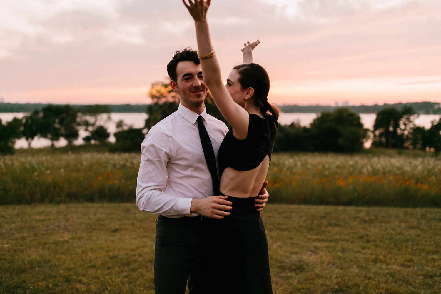 a laughter filled, passionate, and fun loving engagement session by North Texas Wedding Photographer Rachel Meagan Photography 248