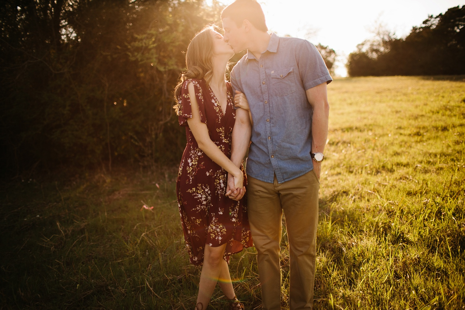 a passionate, natural, and urban engagement session in Dallas, TX by North Texas Wedding Photographer Rachel Meagan Photography _009