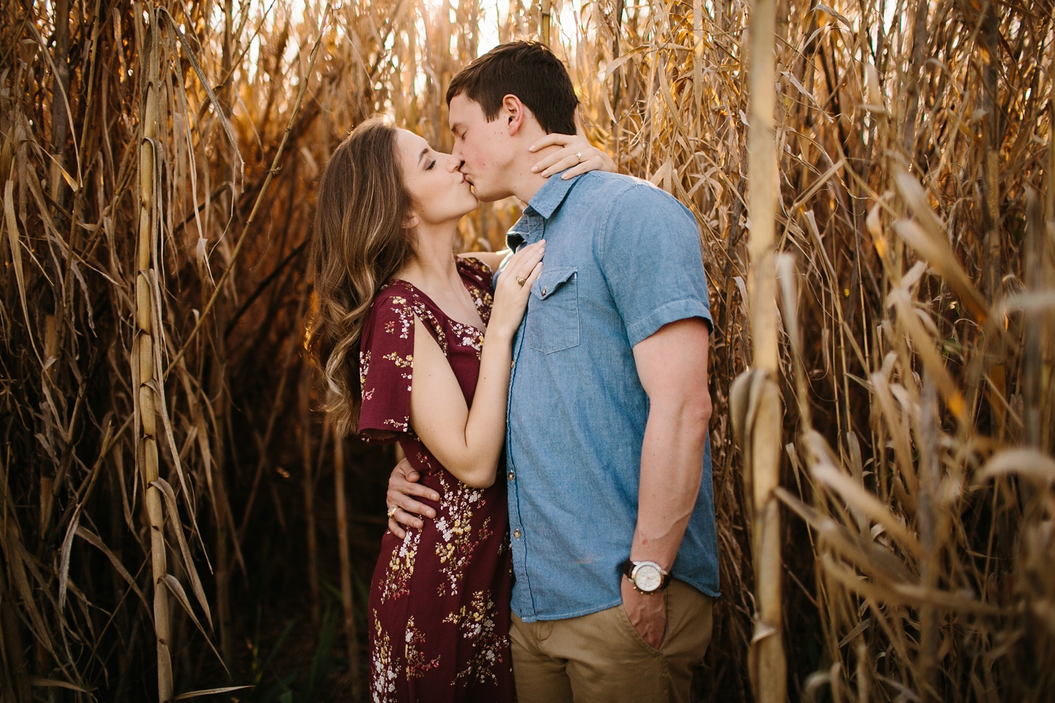 a passionate, natural, and urban engagement session in Dallas, TX by North Texas Wedding Photographer Rachel Meagan Photography _014