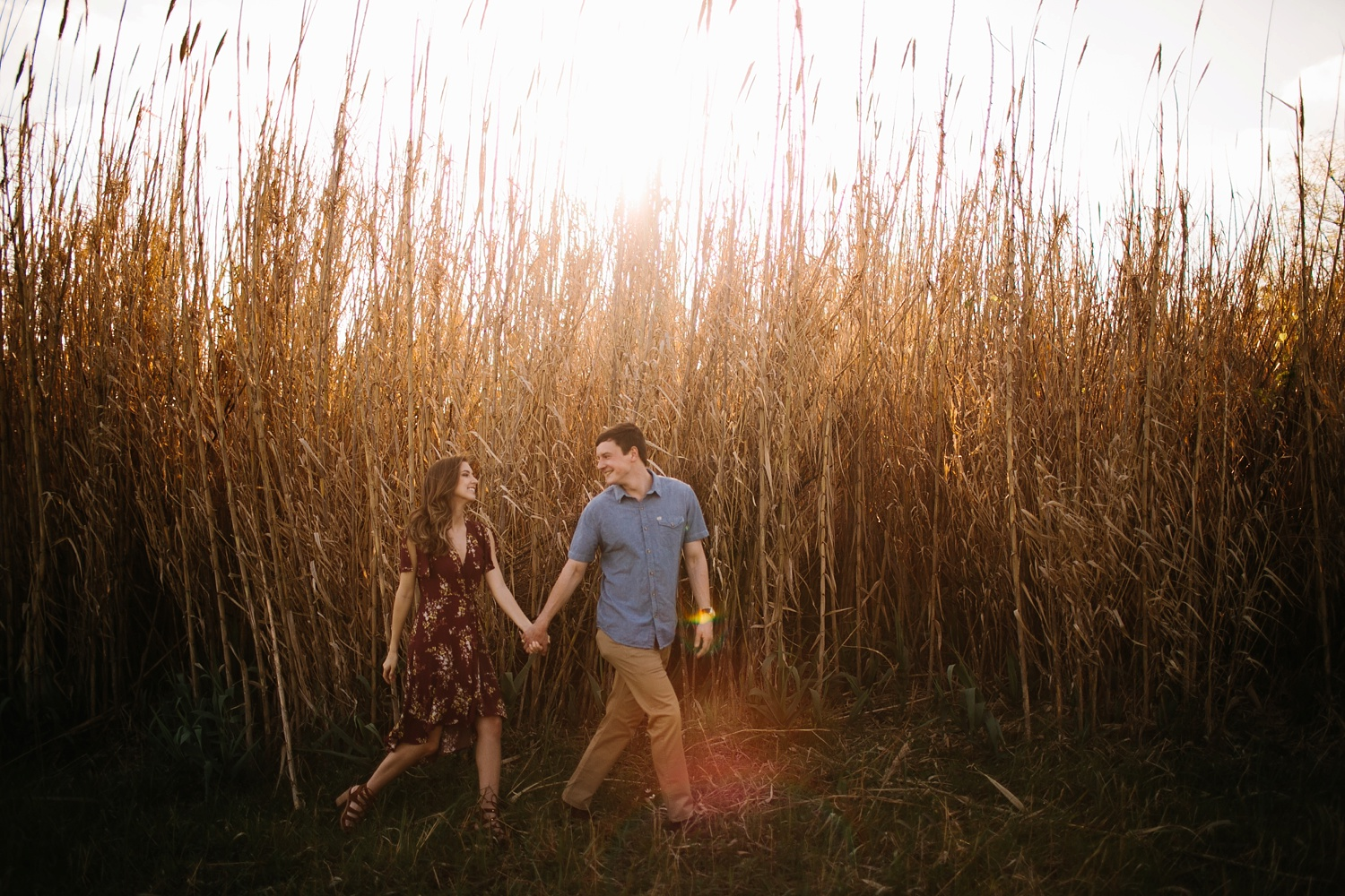 a passionate, natural, and urban engagement session in Dallas, TX by North Texas Wedding Photographer Rachel Meagan Photography _016