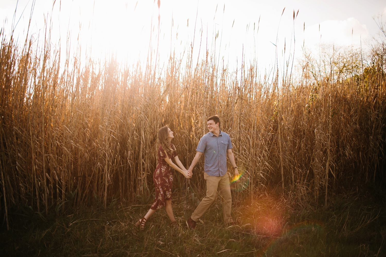 a passionate, natural, and urban engagement session in Dallas, TX by North Texas Wedding Photographer Rachel Meagan Photography _017