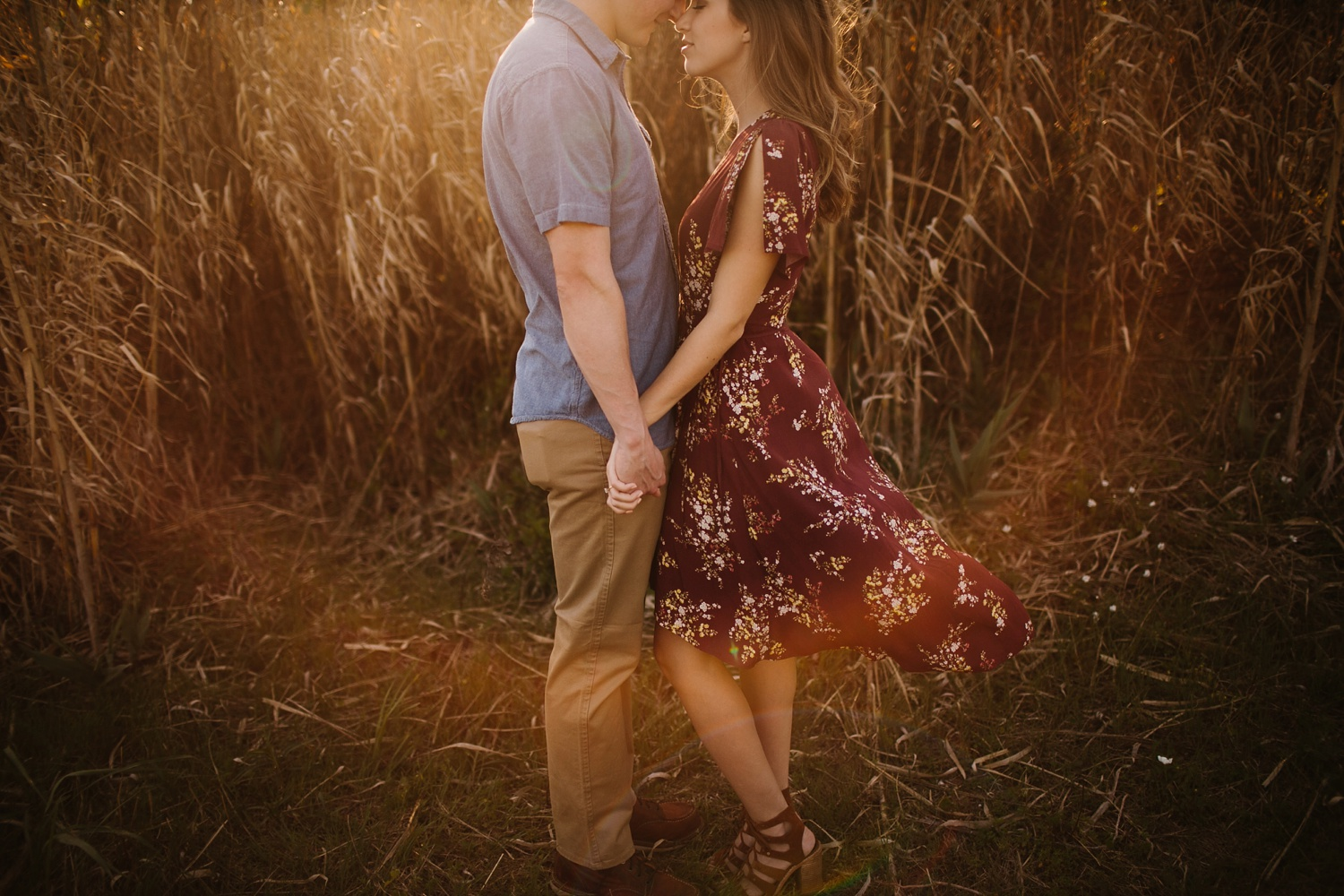 a passionate, natural, and urban engagement session in Dallas, TX by North Texas Wedding Photographer Rachel Meagan Photography _018