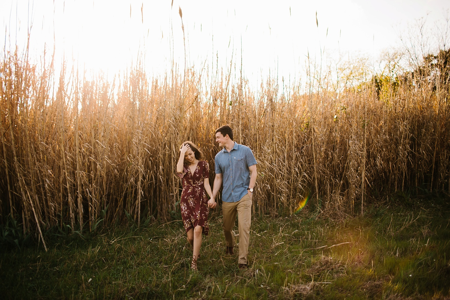 a passionate, natural, and urban engagement session in Dallas, TX by North Texas Wedding Photographer Rachel Meagan Photography _028