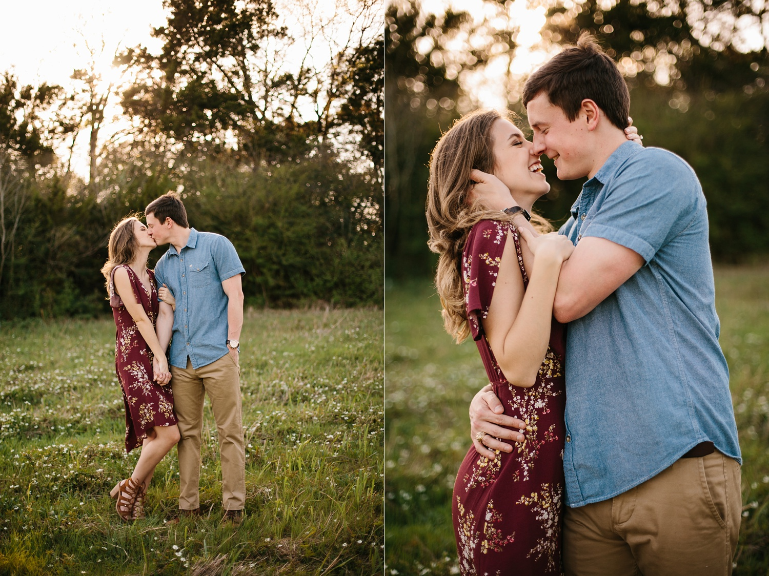a passionate, natural, and urban engagement session in Dallas, TX by North Texas Wedding Photographer Rachel Meagan Photography _033