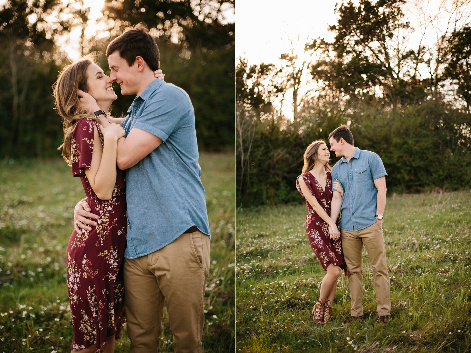 a passionate, natural, and urban engagement session in Dallas, TX by North Texas Wedding Photographer Rachel Meagan Photography _034
