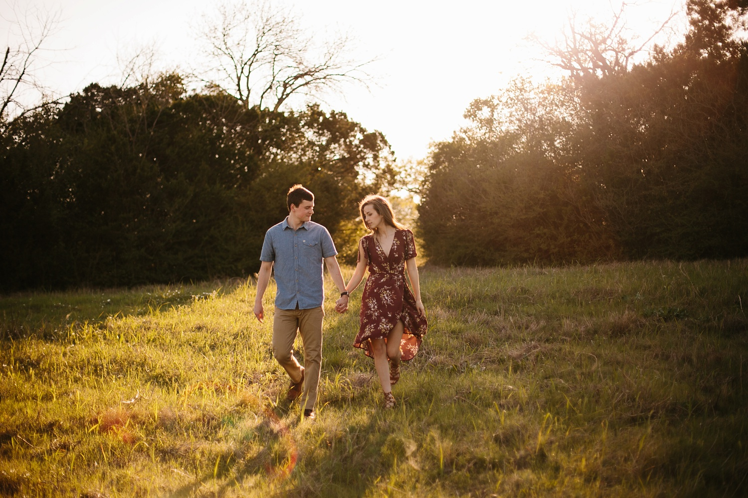 a passionate, natural, and urban engagement session in Dallas, TX by North Texas Wedding Photographer Rachel Meagan Photography _038