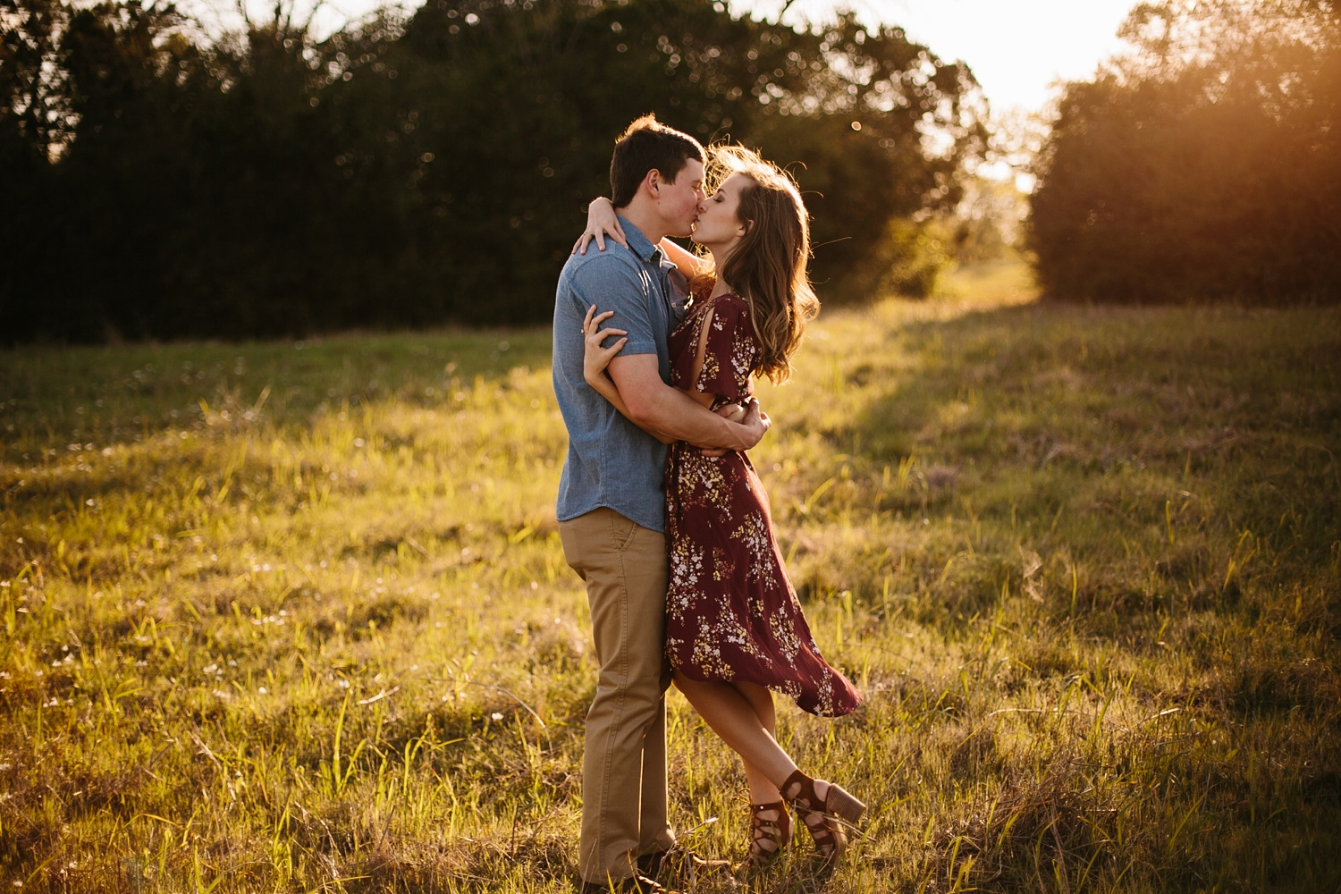 a passionate, natural, and urban engagement session in Dallas, TX by North Texas Wedding Photographer Rachel Meagan Photography _039