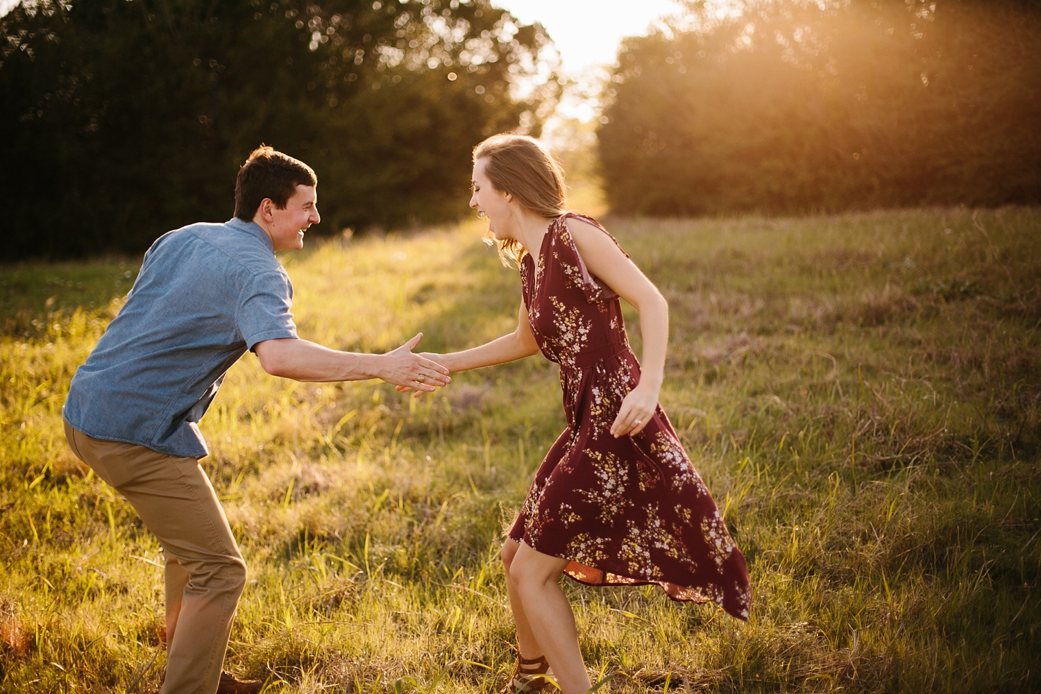 a passionate, natural, and urban engagement session in Dallas, TX by North Texas Wedding Photographer Rachel Meagan Photography _042