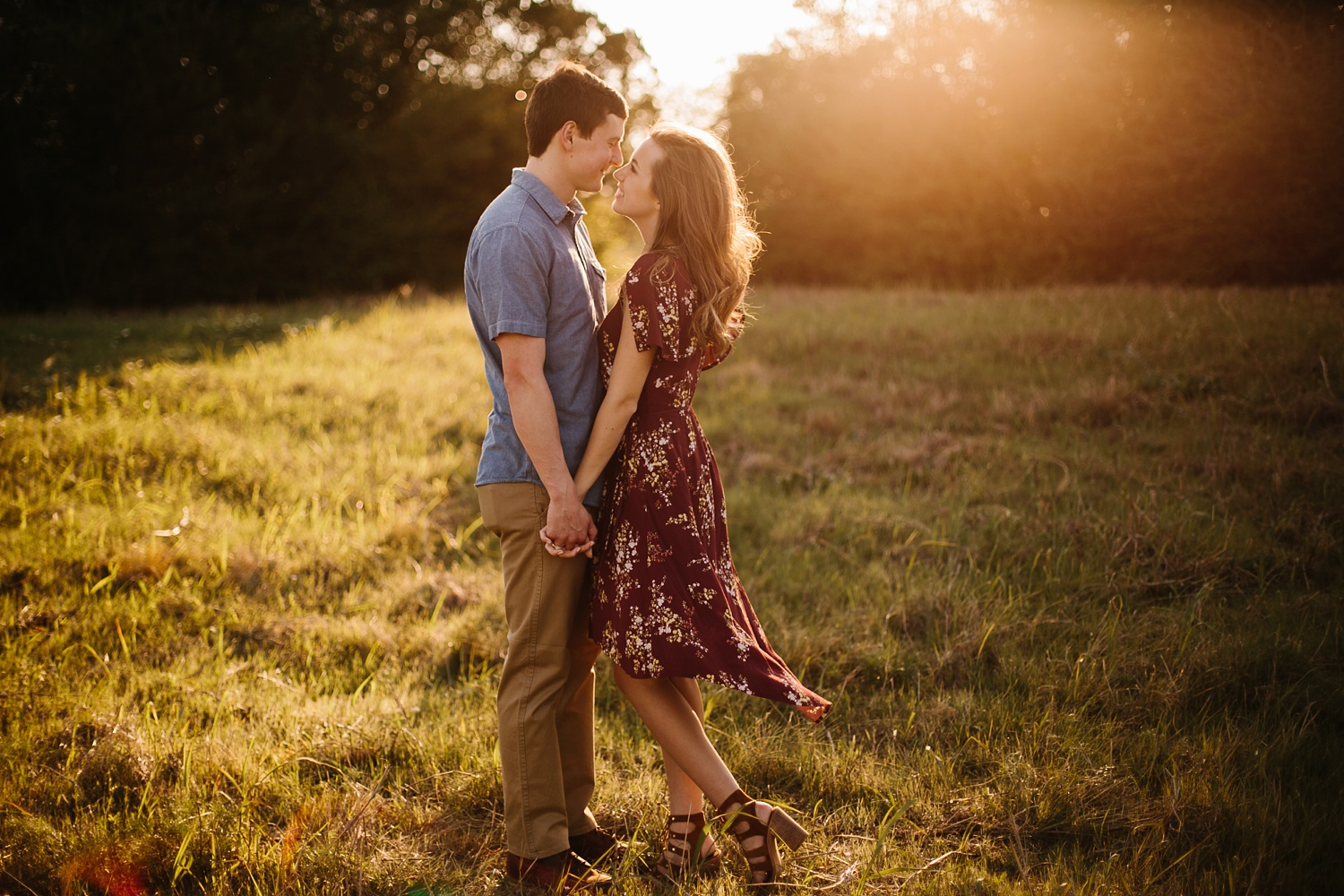 a passionate, natural, and urban engagement session in Dallas, TX by North Texas Wedding Photographer Rachel Meagan Photography _044