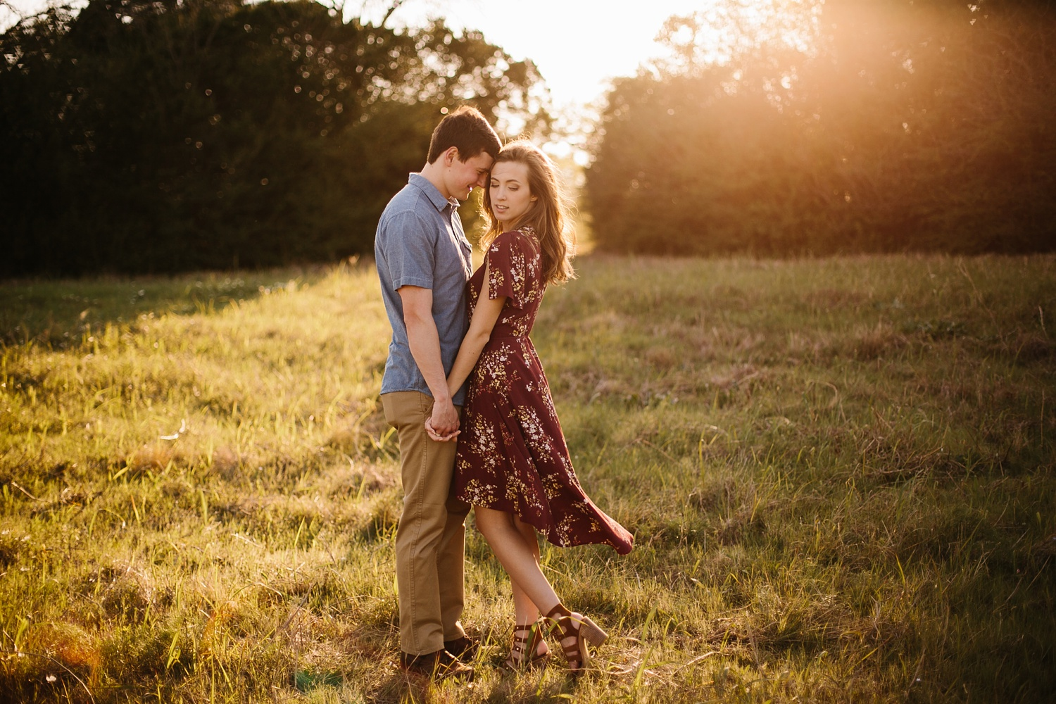 a passionate, natural, and urban engagement session in Dallas, TX by North Texas Wedding Photographer Rachel Meagan Photography _046