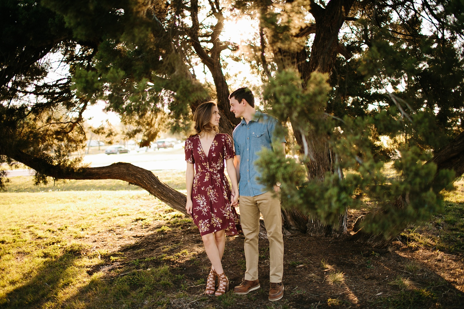 a passionate, natural, and urban engagement session in Dallas, TX by North Texas Wedding Photographer Rachel Meagan Photography _049