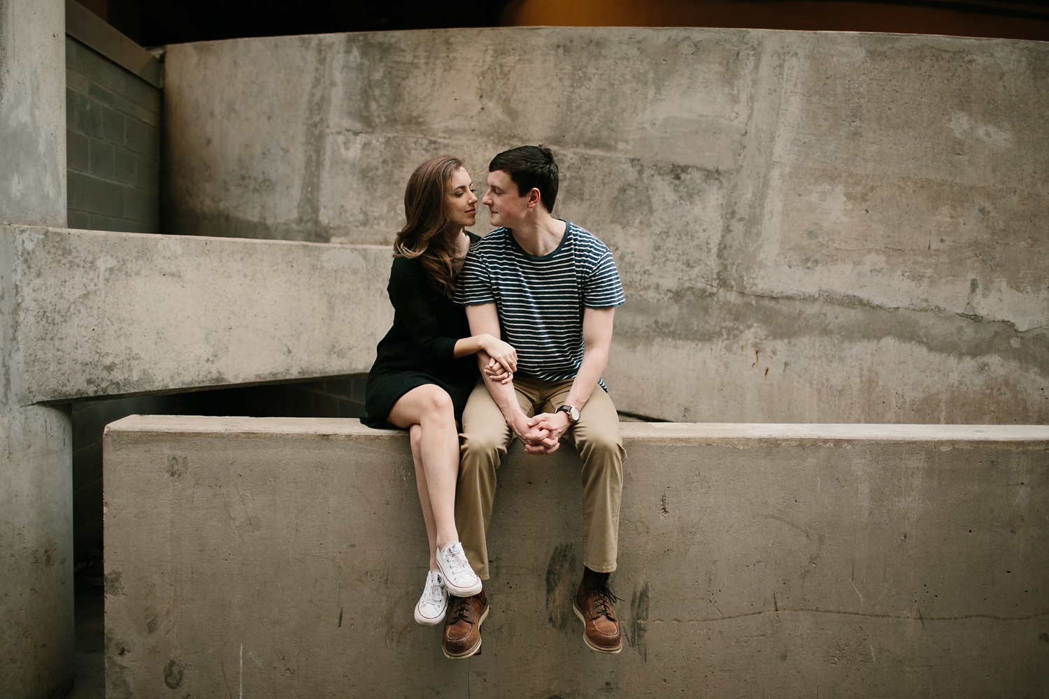 a passionate, natural, and urban engagement session in Dallas, TX by North Texas Wedding Photographer Rachel Meagan Photography _064