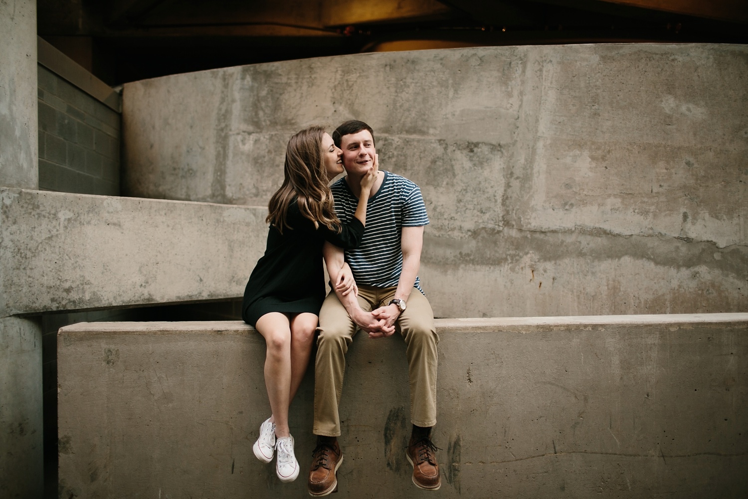 a passionate, natural, and urban engagement session in Dallas, TX by North Texas Wedding Photographer Rachel Meagan Photography _066
