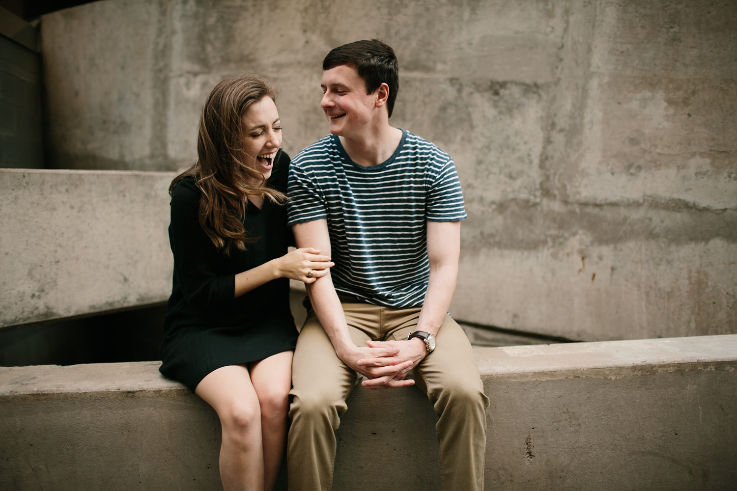 a passionate, natural, and urban engagement session in Dallas, TX by North Texas Wedding Photographer Rachel Meagan Photography _067