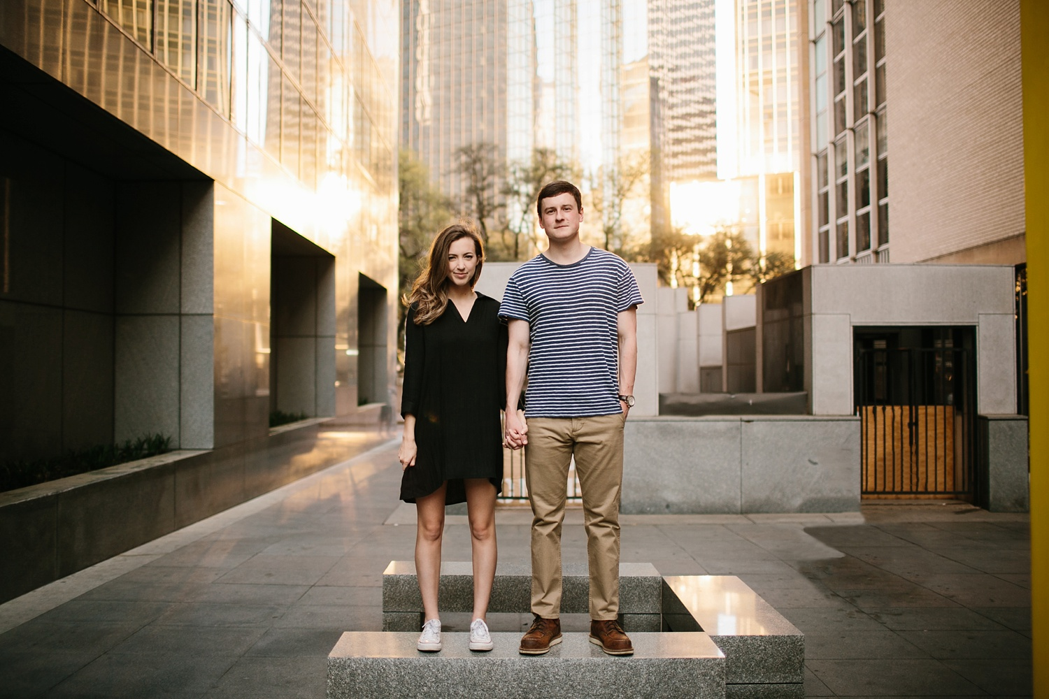 a passionate, natural, and urban engagement session in Dallas, TX by North Texas Wedding Photographer Rachel Meagan Photography _068