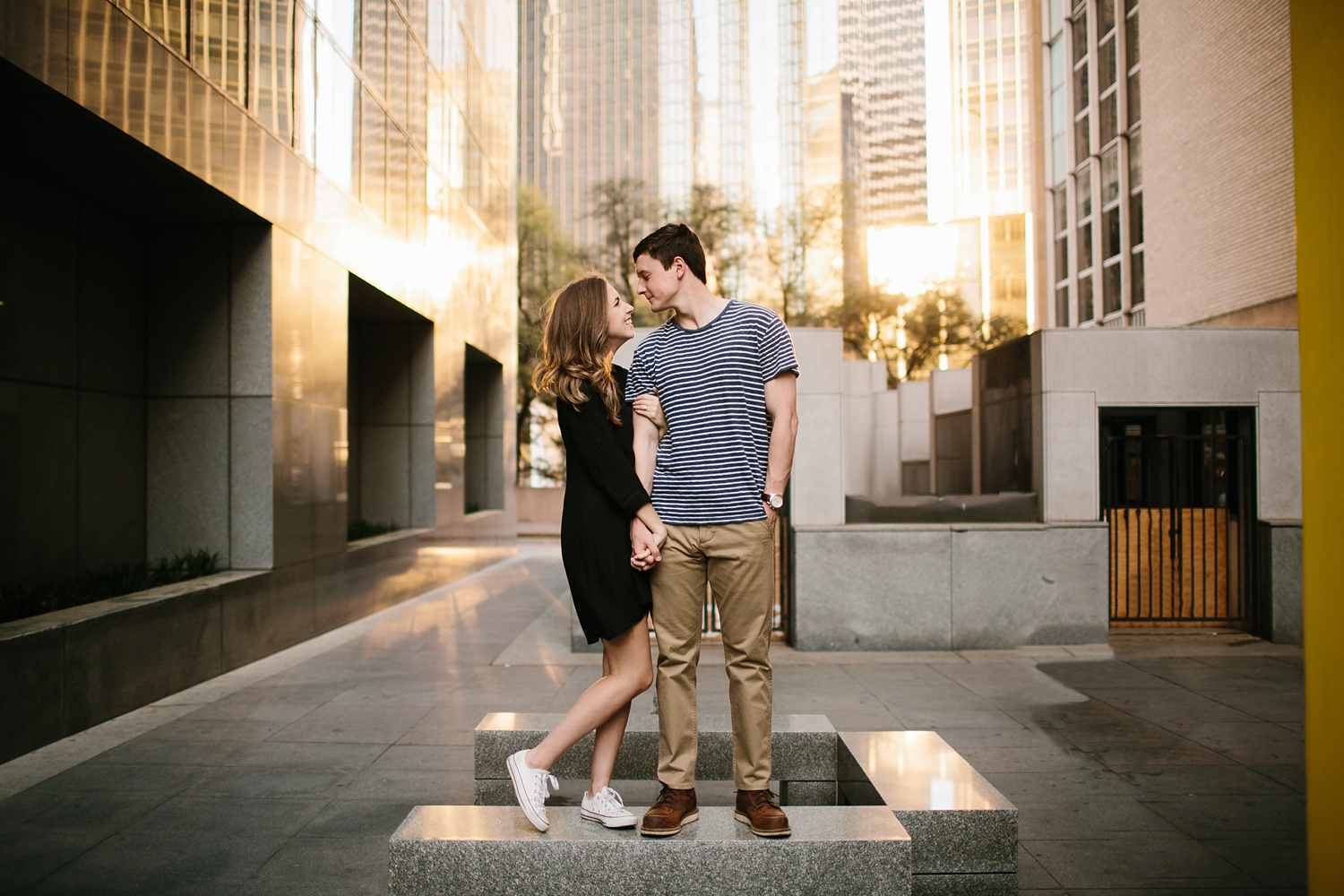 a passionate, natural, and urban engagement session in Dallas, TX by North Texas Wedding Photographer Rachel Meagan Photography _069