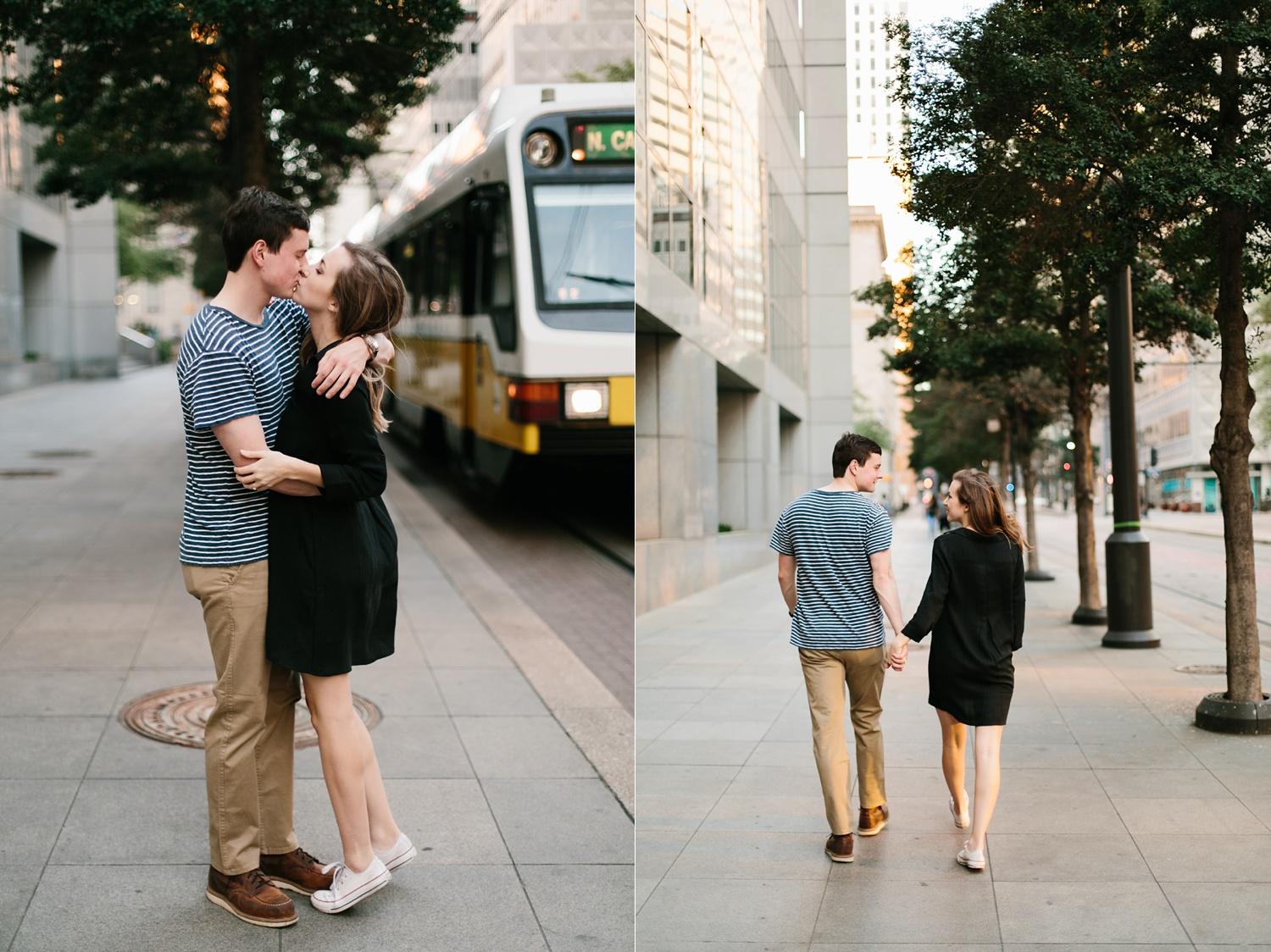 a passionate, natural, and urban engagement session in Dallas, TX by North Texas Wedding Photographer Rachel Meagan Photography _077