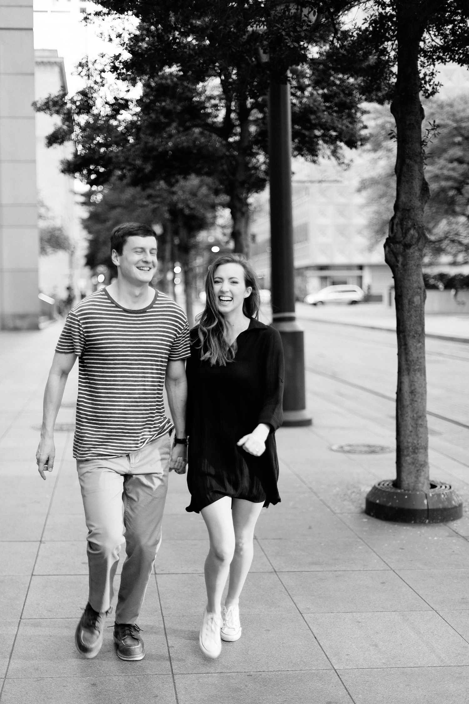 a passionate, natural, and urban engagement session in Dallas, TX by North Texas Wedding Photographer Rachel Meagan Photography _078