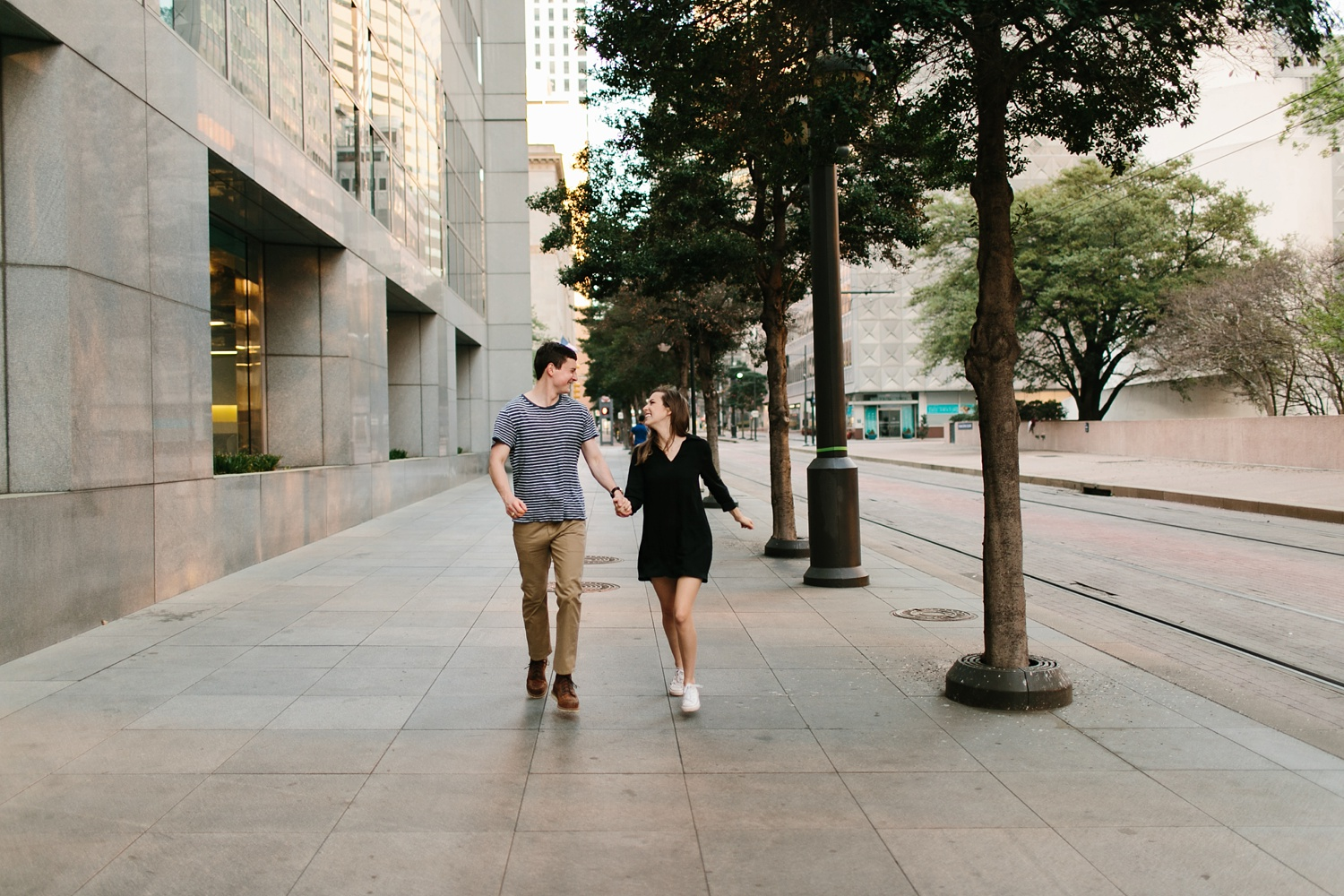 a passionate, natural, and urban engagement session in Dallas, TX by North Texas Wedding Photographer Rachel Meagan Photography _079