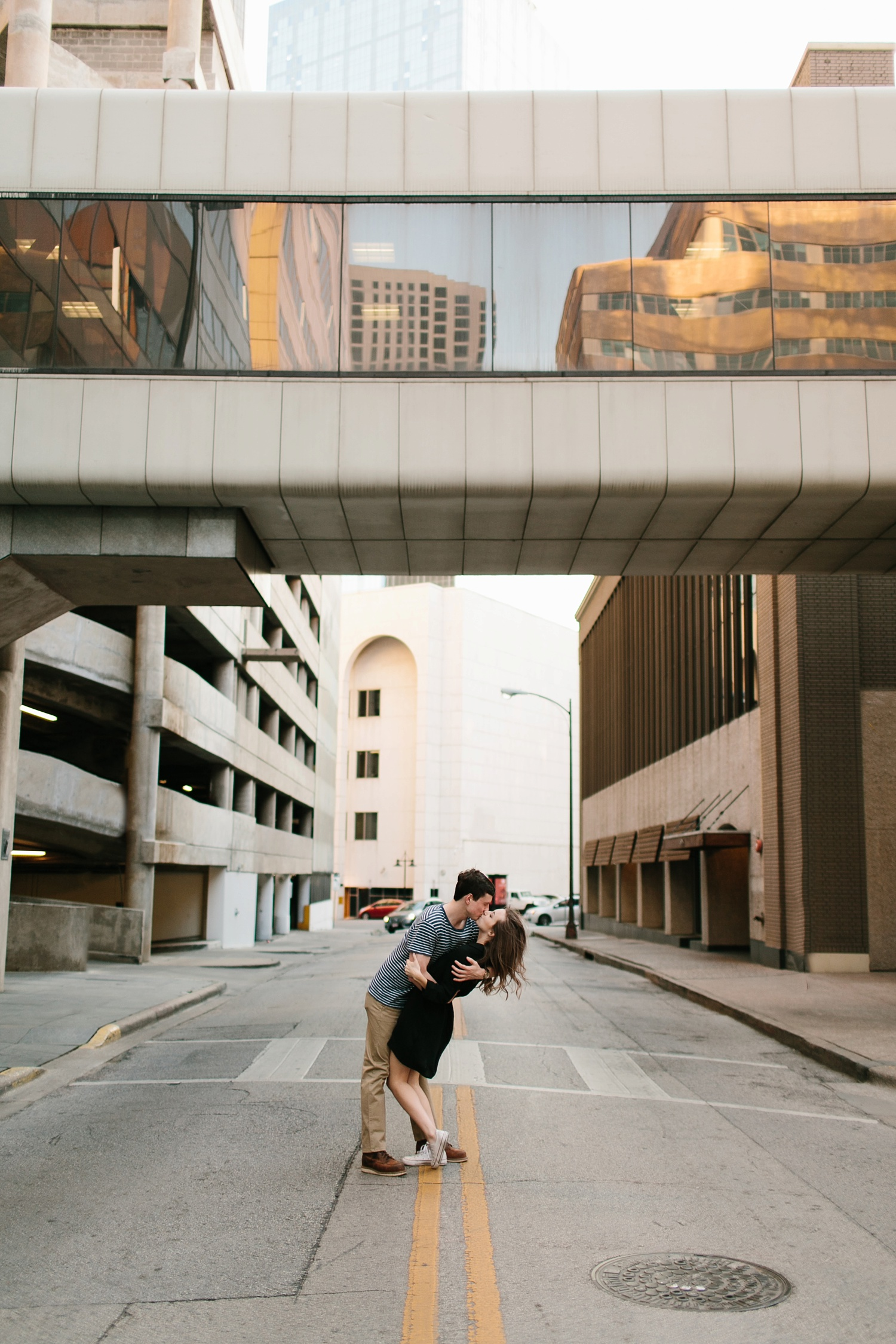 a passionate, natural, and urban engagement session in Dallas, TX by North Texas Wedding Photographer Rachel Meagan Photography _081