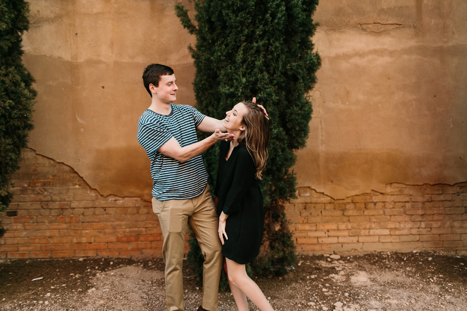 a passionate, natural, and urban engagement session in Dallas, TX by North Texas Wedding Photographer Rachel Meagan Photography _082