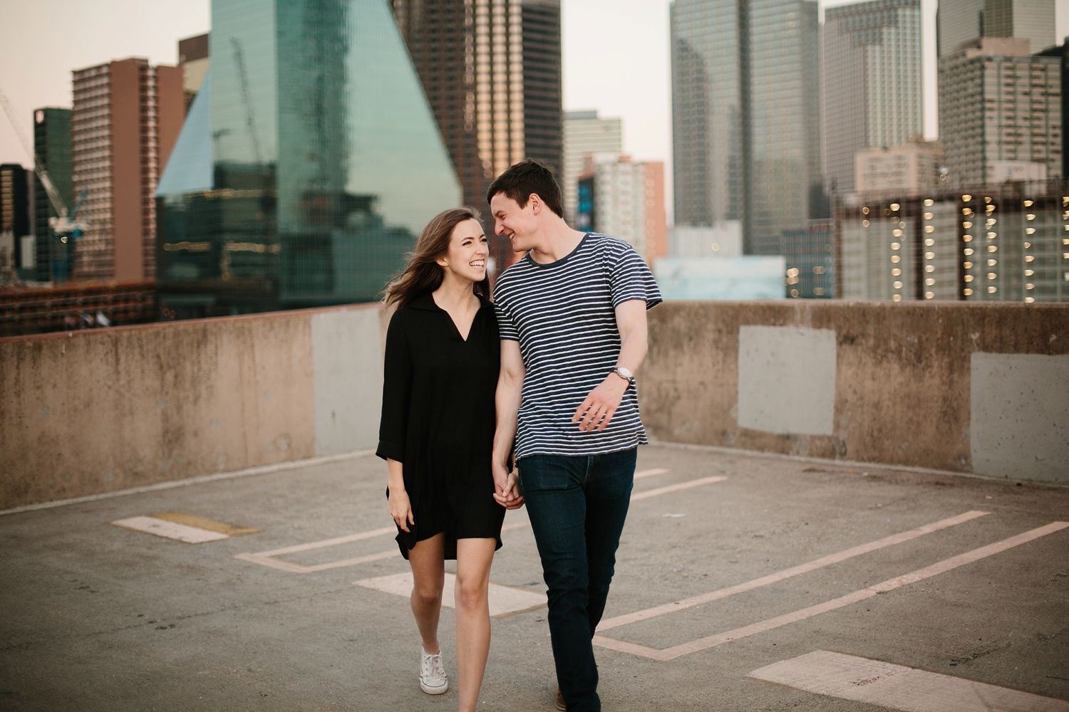 a passionate, natural, and urban engagement session in Dallas, TX by North Texas Wedding Photographer Rachel Meagan Photography _102