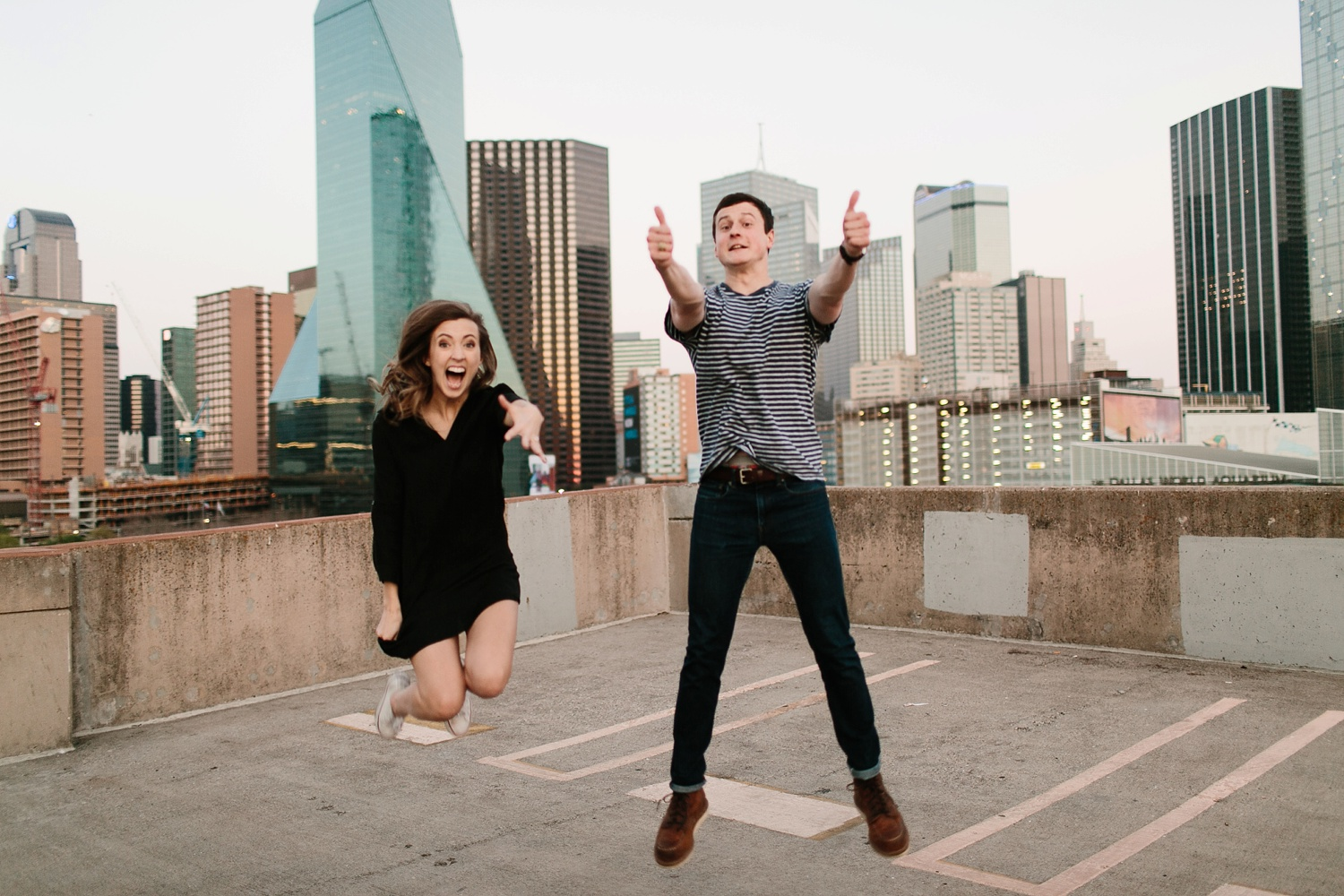 a passionate, natural, and urban engagement session in Dallas, TX by North Texas Wedding Photographer Rachel Meagan Photography _105
