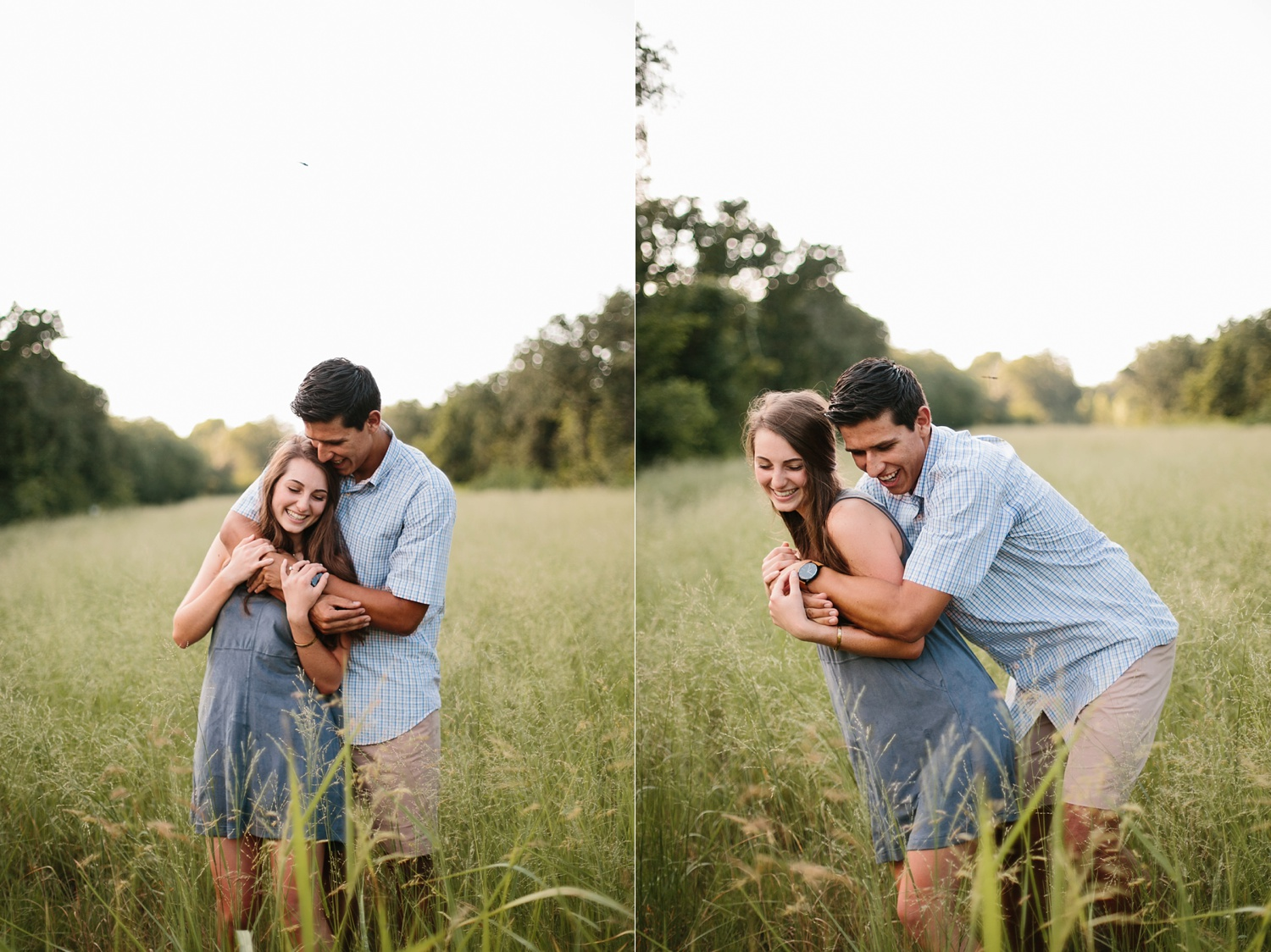 adventure engagement session that ended with jumping in the lake in Grapevine, TX by North Texas Wedding Photographer Rachel Meagan Photography _ 07