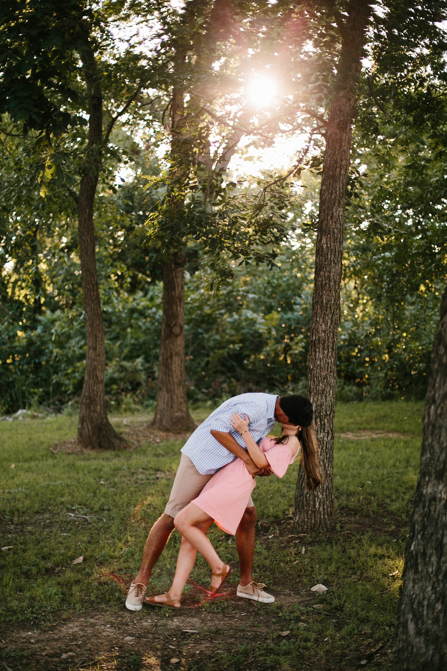 adventure engagement session that ended with jumping in the lake in Grapevine, TX by North Texas Wedding Photographer Rachel Meagan Photography _ 24
