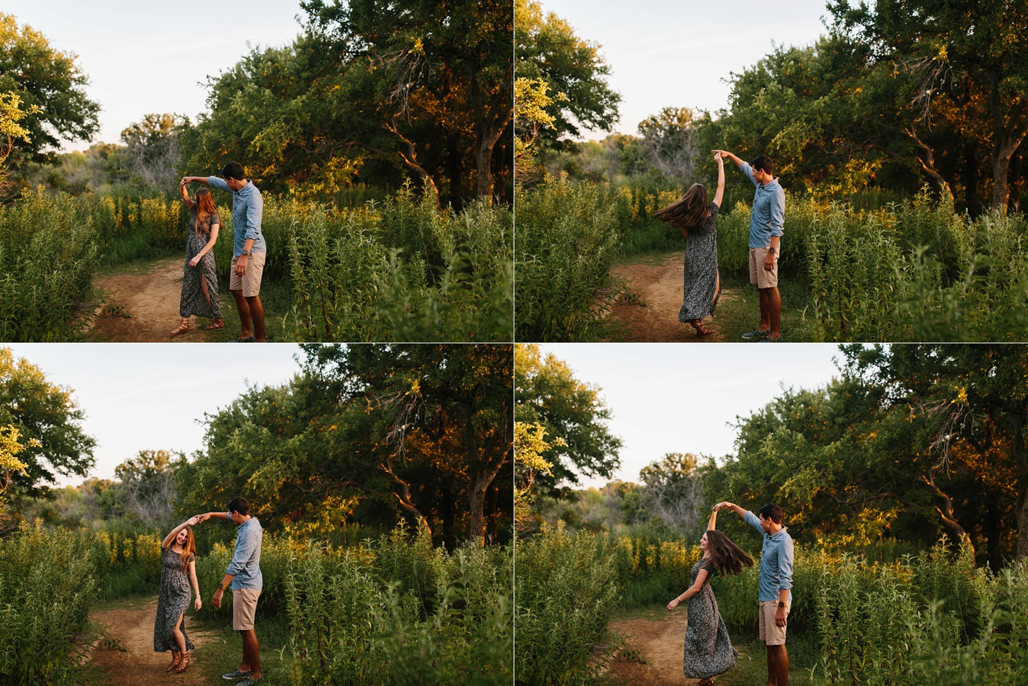 adventure engagement session that ended with jumping in the lake in Grapevine, TX by North Texas Wedding Photographer Rachel Meagan Photography _ 41