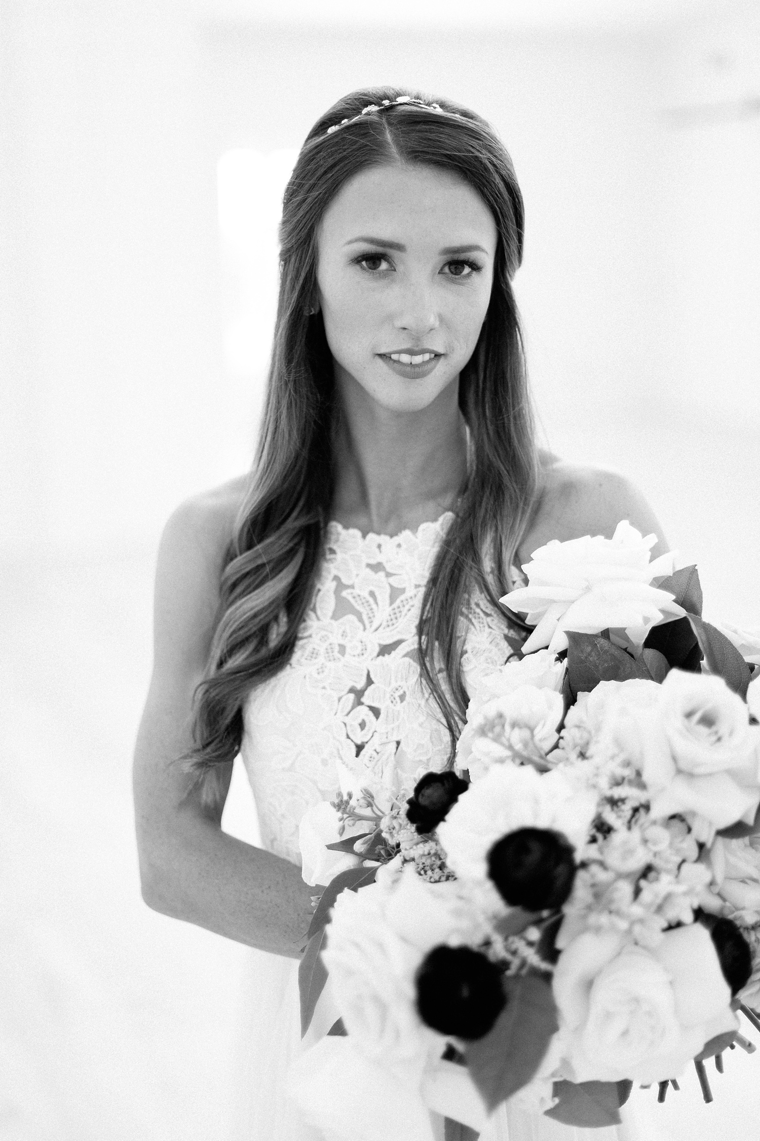 an all white minimialist style bridal session with burgundy and blush accents at The Nest at Ruth Farms in Ponder, Texas by North Texas Wedding Photographer Rachel Meagan Photography007
