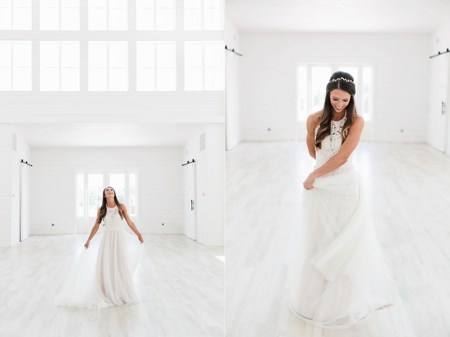 an all white minimialist style bridal session with burgundy and blush accents at The Nest at Ruth Farms in Ponder, Texas by North Texas Wedding Photographer Rachel Meagan Photography013