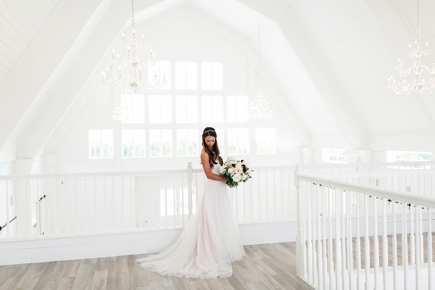 an all white minimialist style bridal session with burgundy and blush accents at The Nest at Ruth Farms in Ponder, Texas by North Texas Wedding Photographer Rachel Meagan Photography030