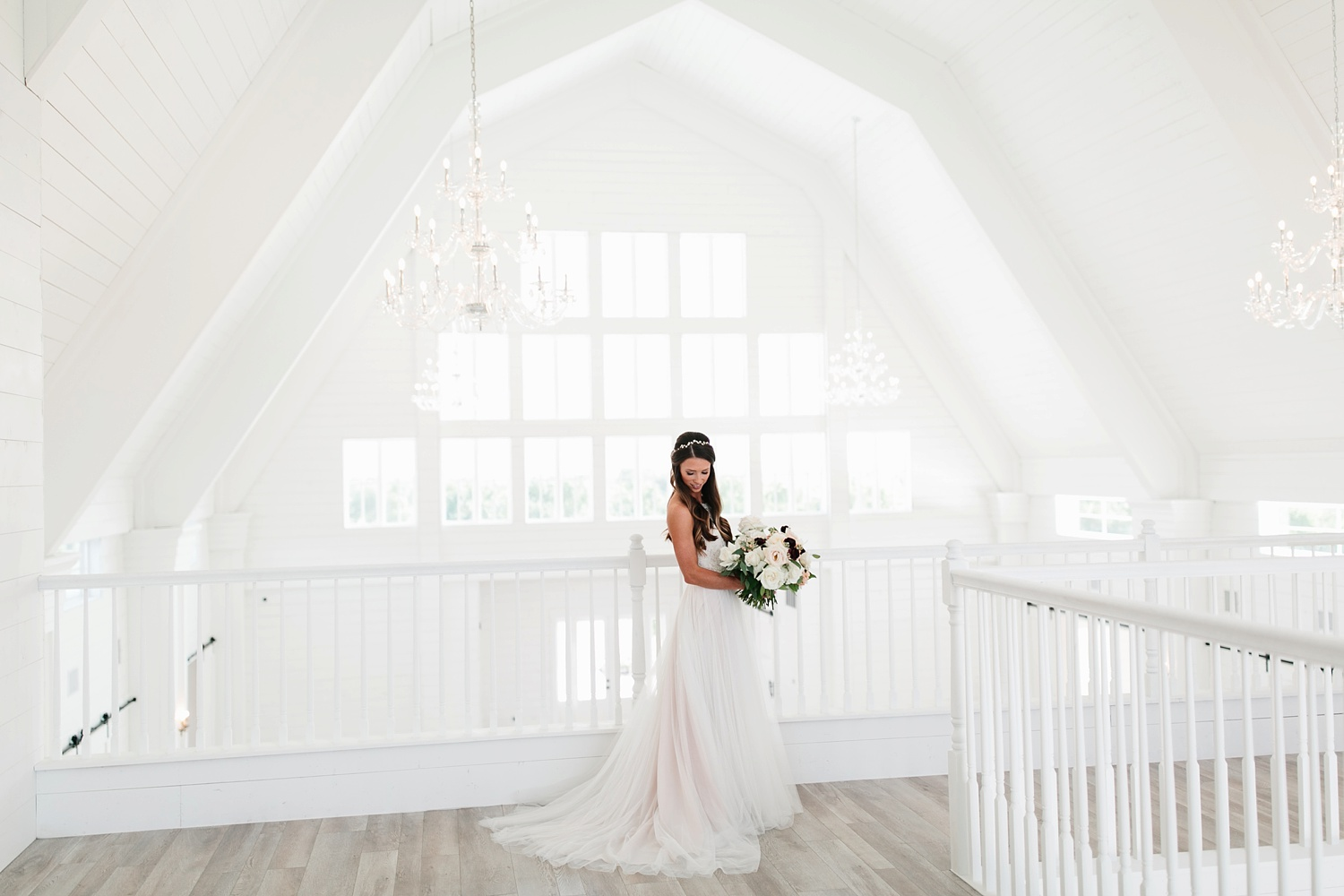 an all white minimialist style bridal session with burgundy and blush accents at The Nest at Ruth Farms in Ponder, Texas by North Texas Wedding Photographer Rachel Meagan Photography031