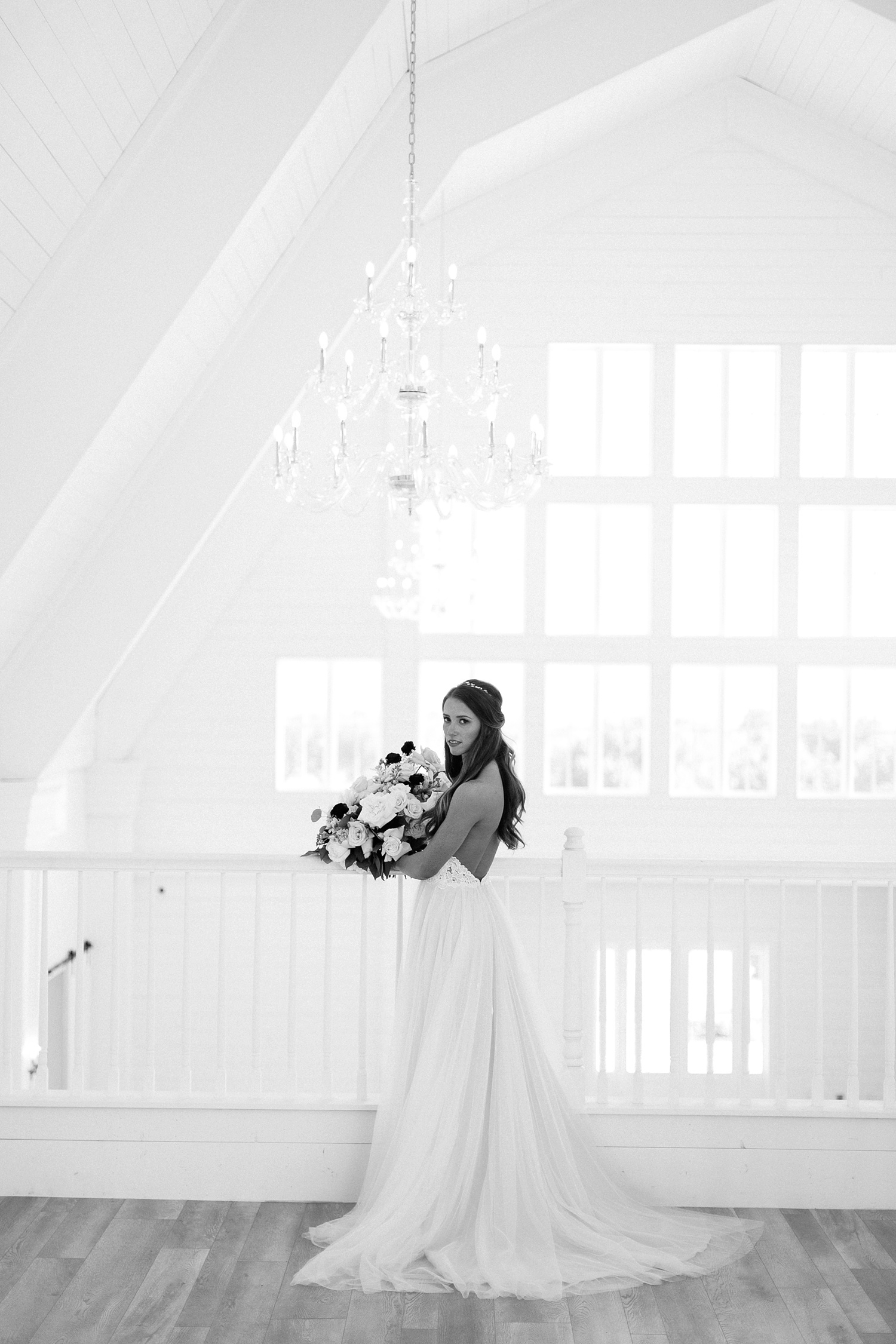 an all white minimialist style bridal session with burgundy and blush accents at The Nest at Ruth Farms in Ponder, Texas by North Texas Wedding Photographer Rachel Meagan Photography042