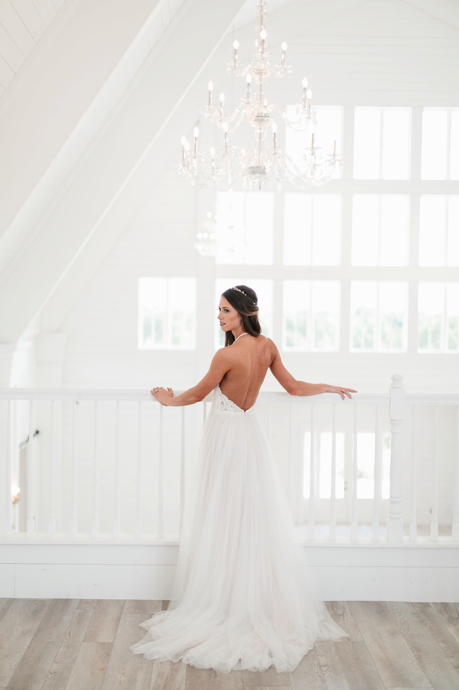 an all white minimialist style bridal session with burgundy and blush accents at The Nest at Ruth Farms in Ponder, Texas by North Texas Wedding Photographer Rachel Meagan Photography048