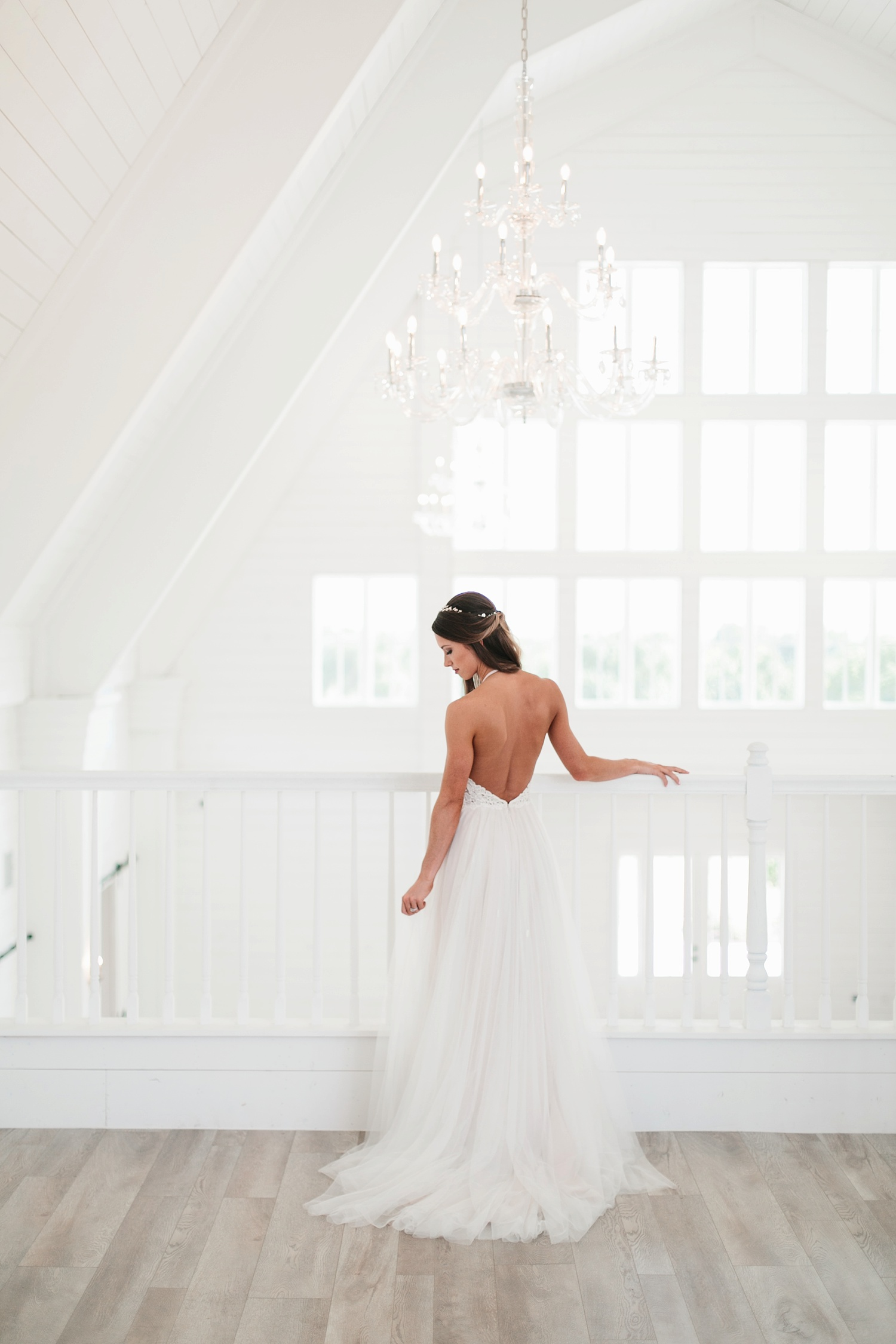 an all white minimialist style bridal session with burgundy and blush accents at The Nest at Ruth Farms in Ponder, Texas by North Texas Wedding Photographer Rachel Meagan Photography050