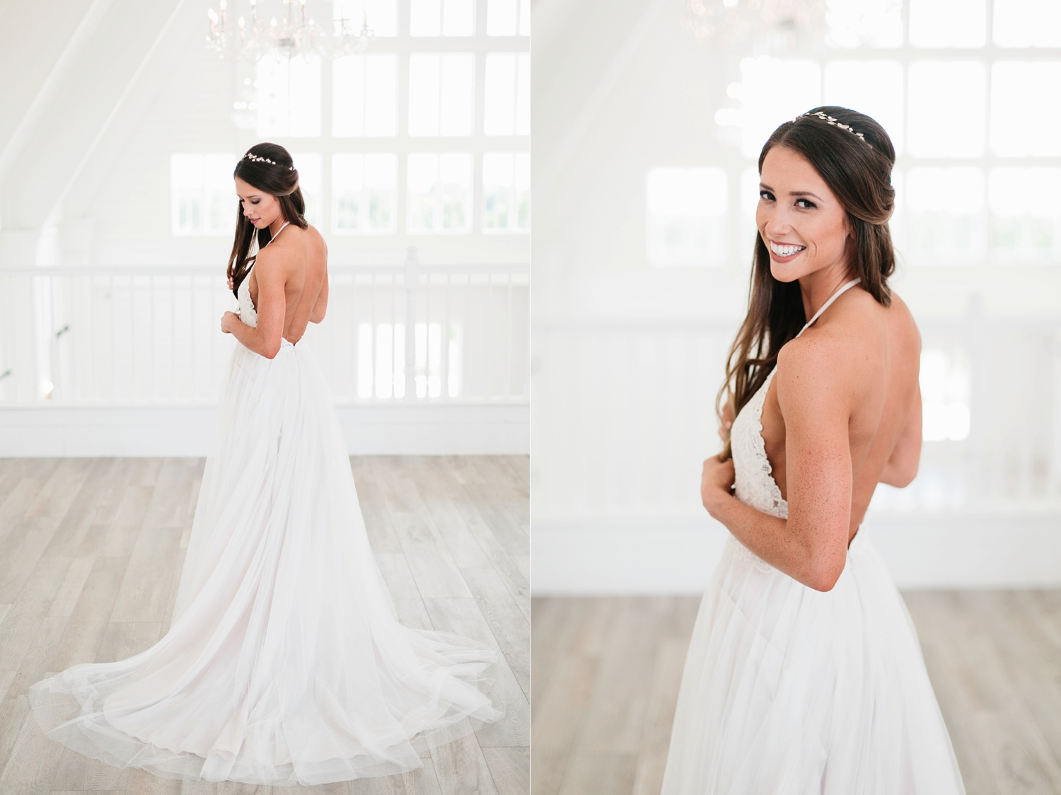 an all white minimialist style bridal session with burgundy and blush accents at The Nest at Ruth Farms in Ponder, Texas by North Texas Wedding Photographer Rachel Meagan Photography053