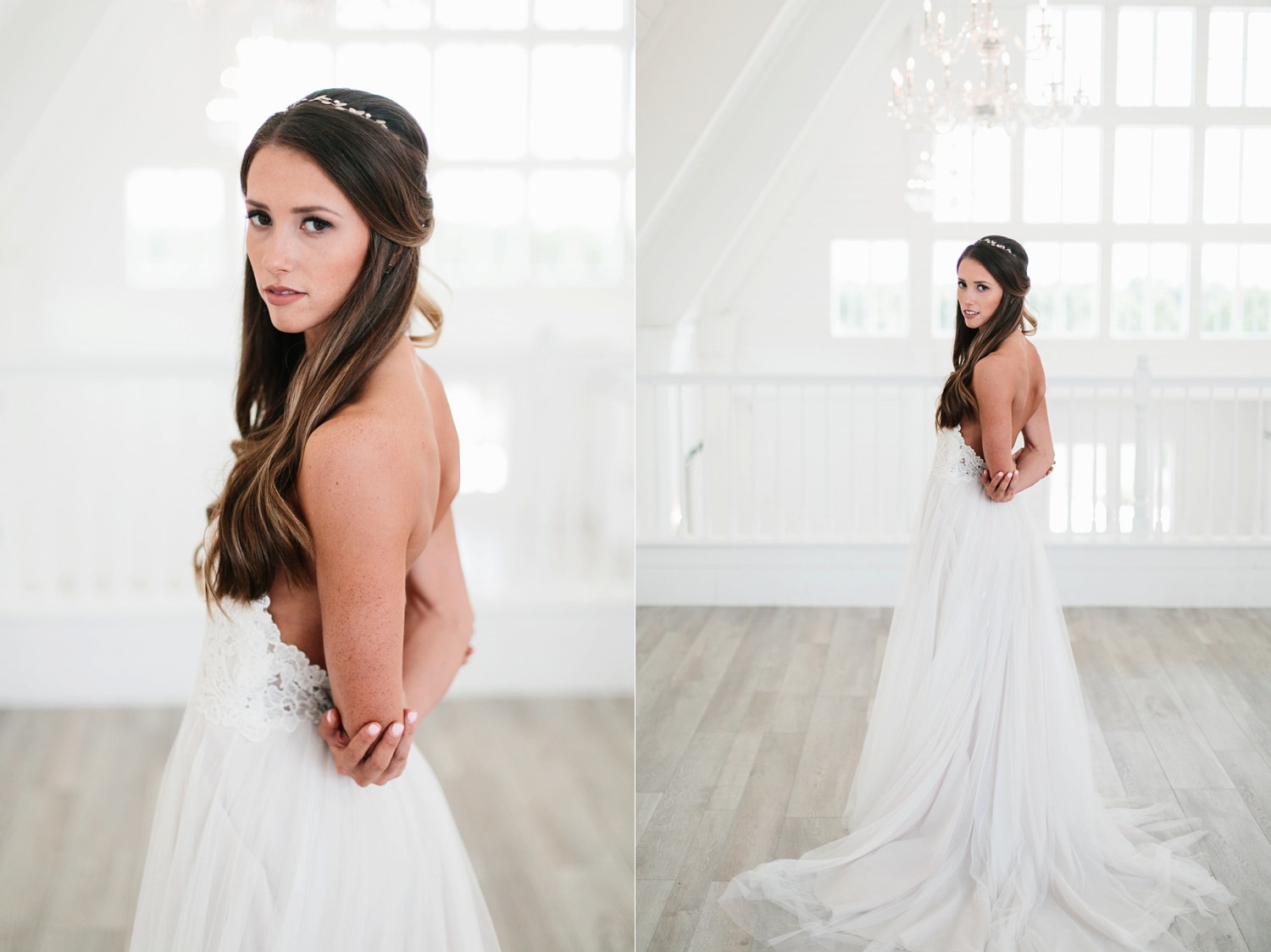 an all white minimialist style bridal session with burgundy and blush accents at The Nest at Ruth Farms in Ponder, Texas by North Texas Wedding Photographer Rachel Meagan Photography056